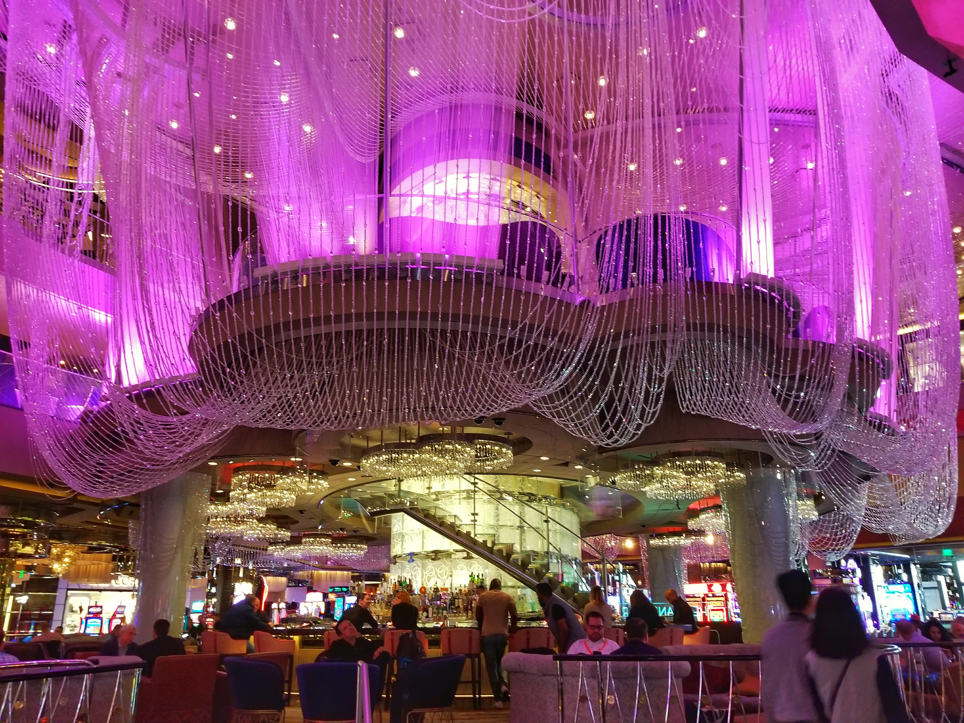 fun things to do in Las Vegas for couples - The Chandelier Lounge