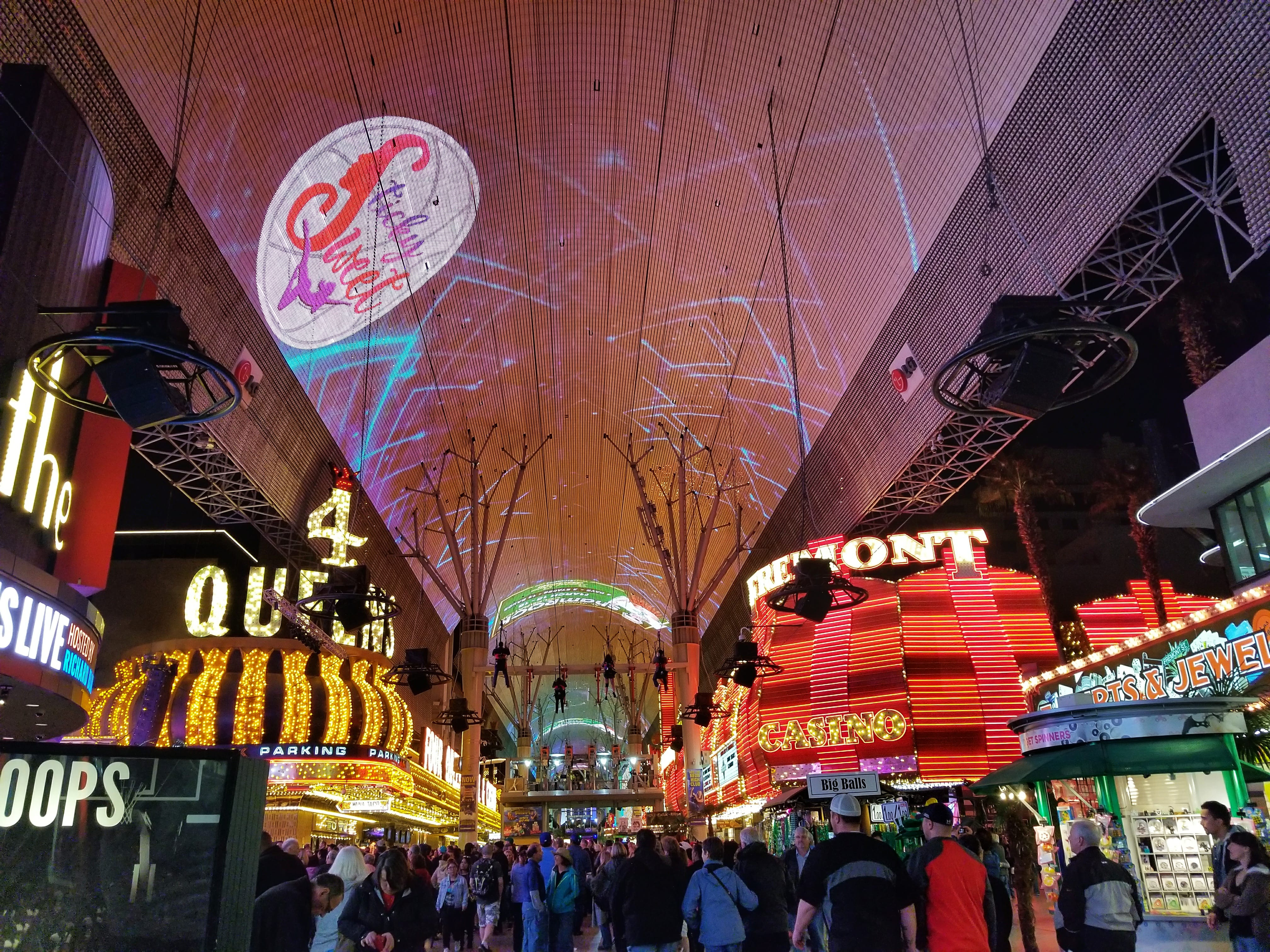 fun things to do in Las Vegas for free - Fremont Street Experience