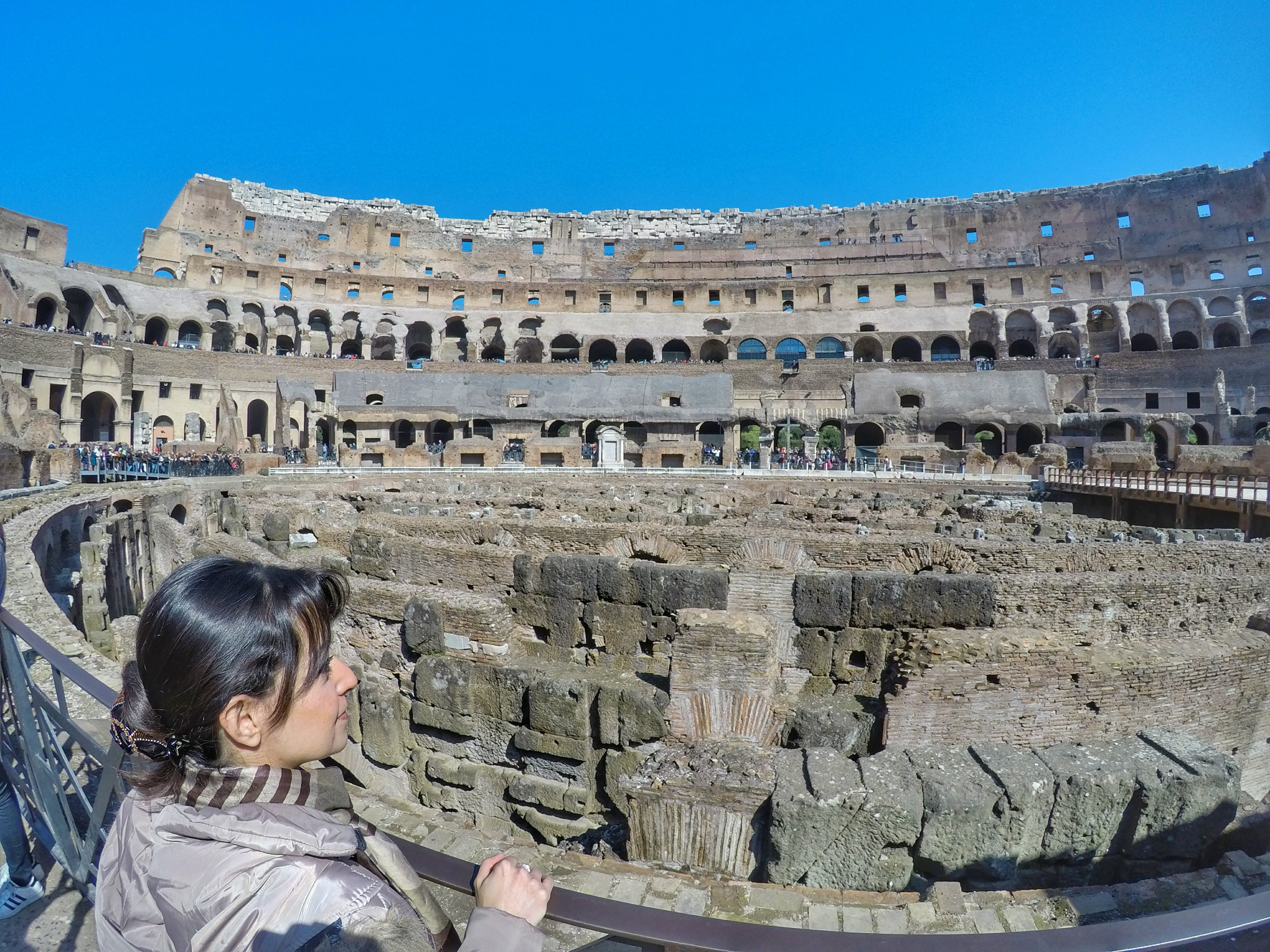 10 Day Italy Itinerary - Colosseum Rome
