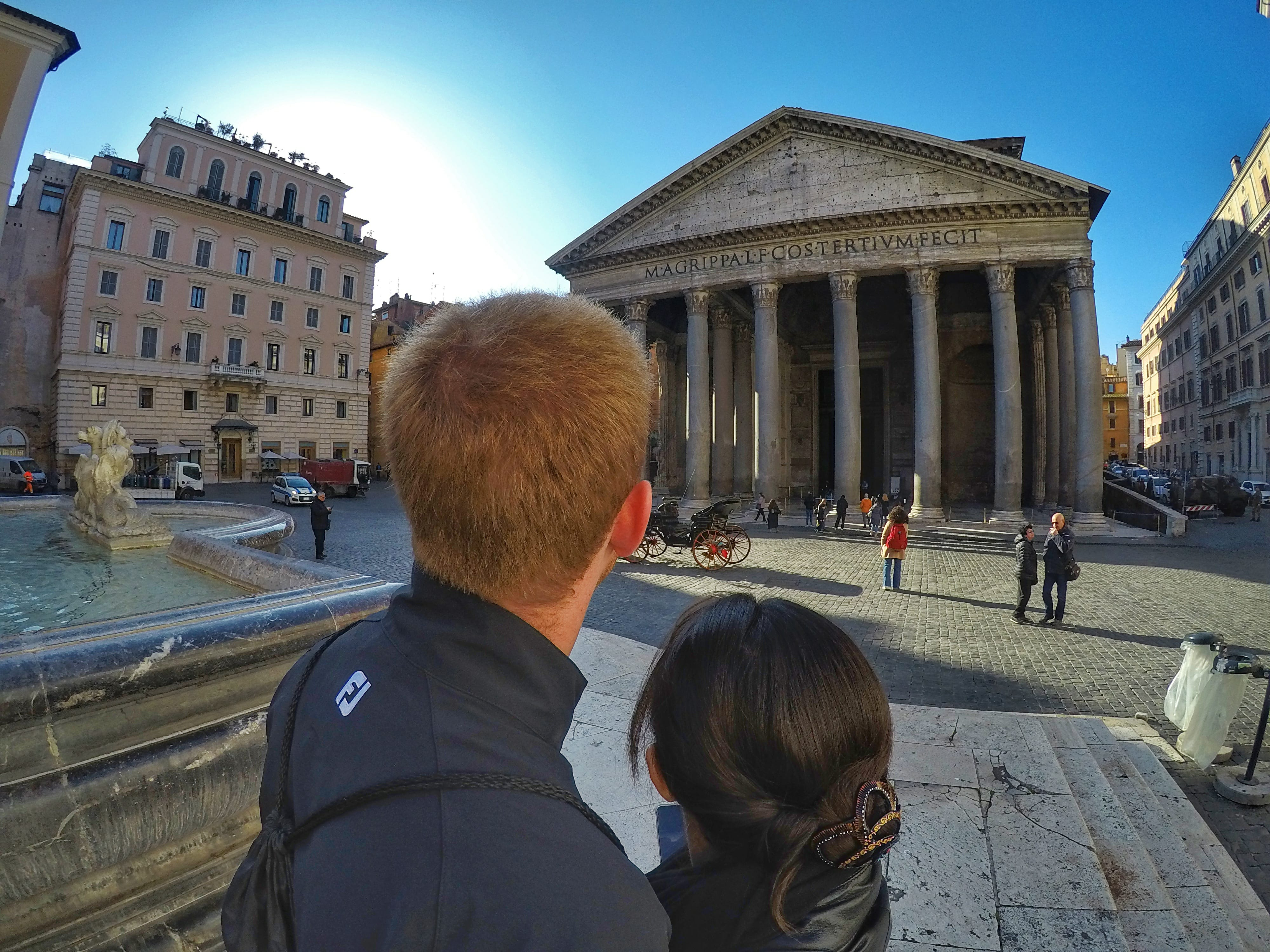 10 Day Italy Itinerary - Pantheon in Rome