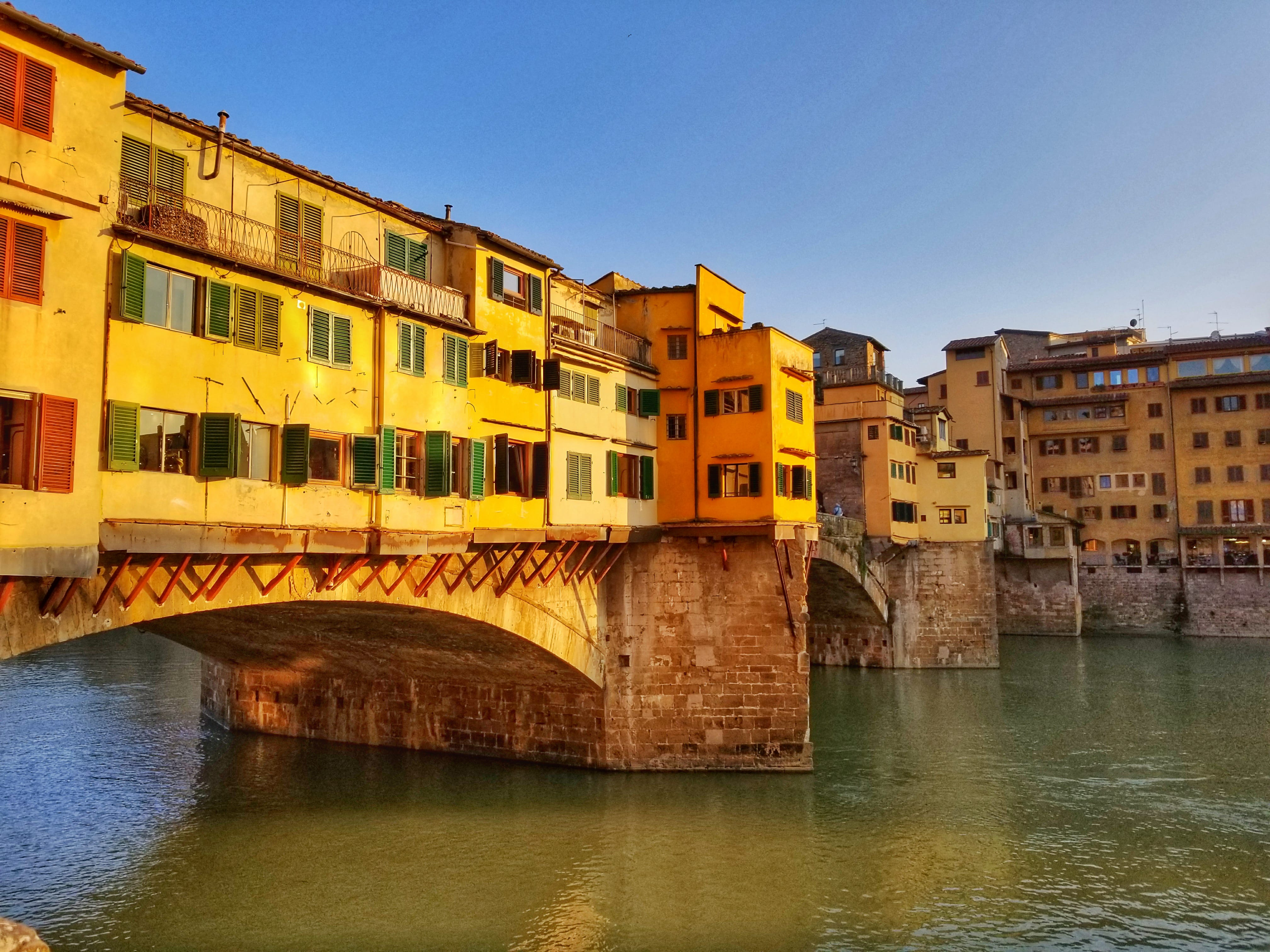 10 Day Italy Itinerary - Ponte Veccio Florence