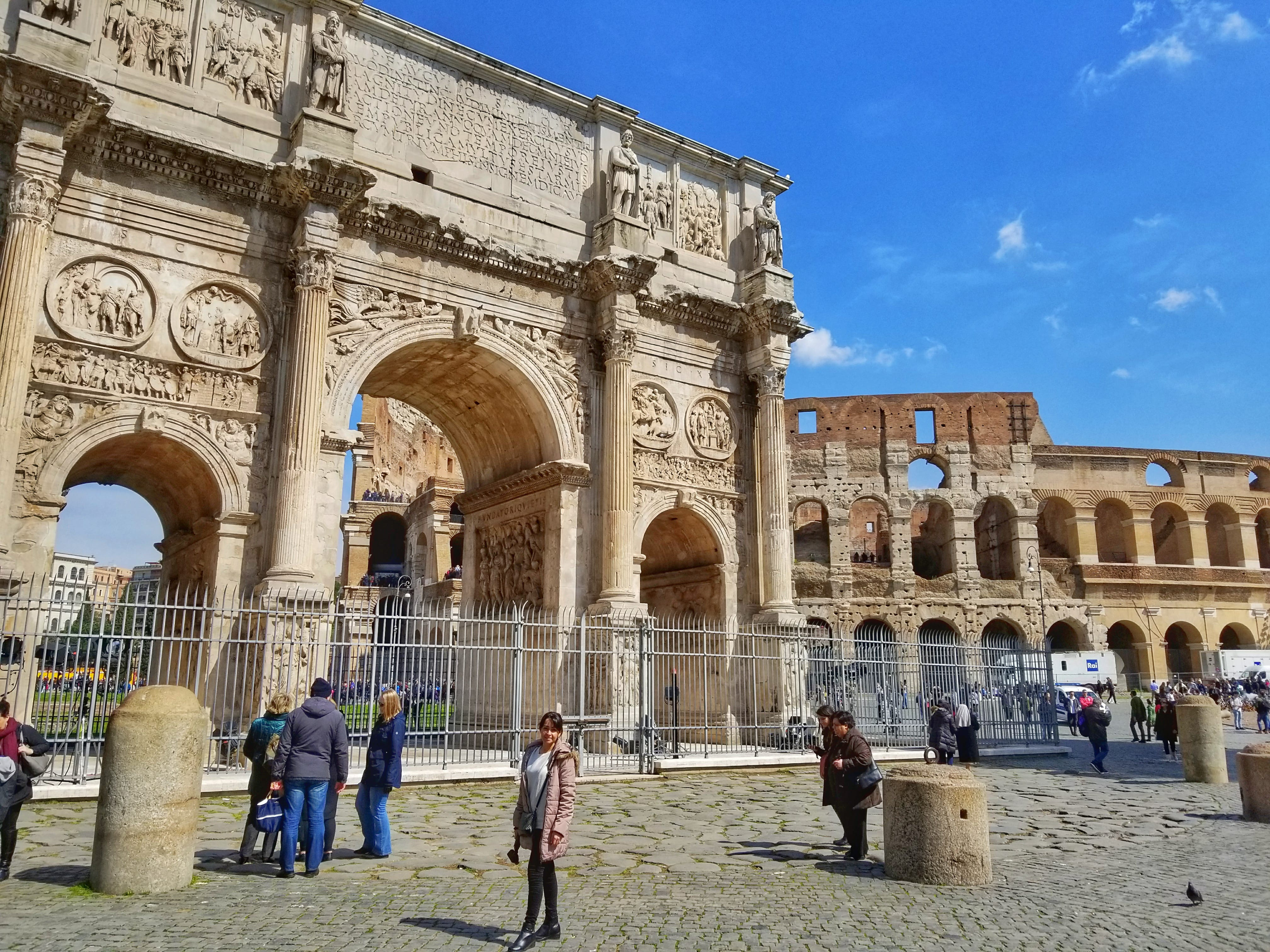 Italy 10 day Itinerary - Arch Of Constantine
