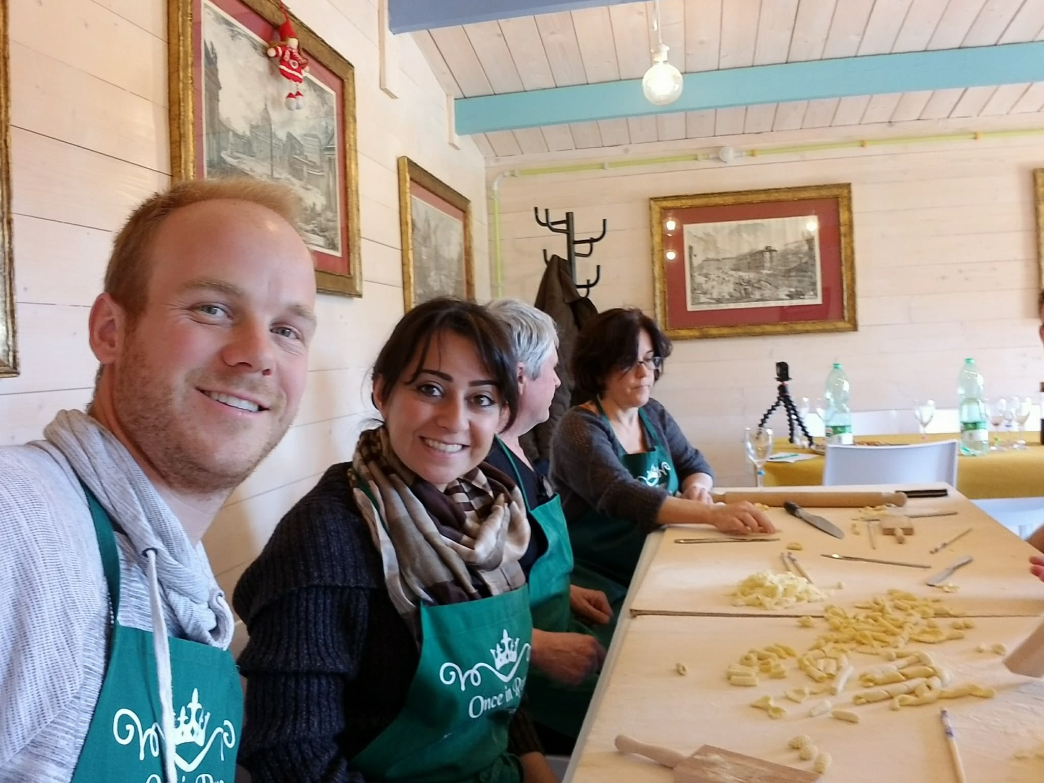 Rome Vacation Tips - Pizza and Pasta making class
