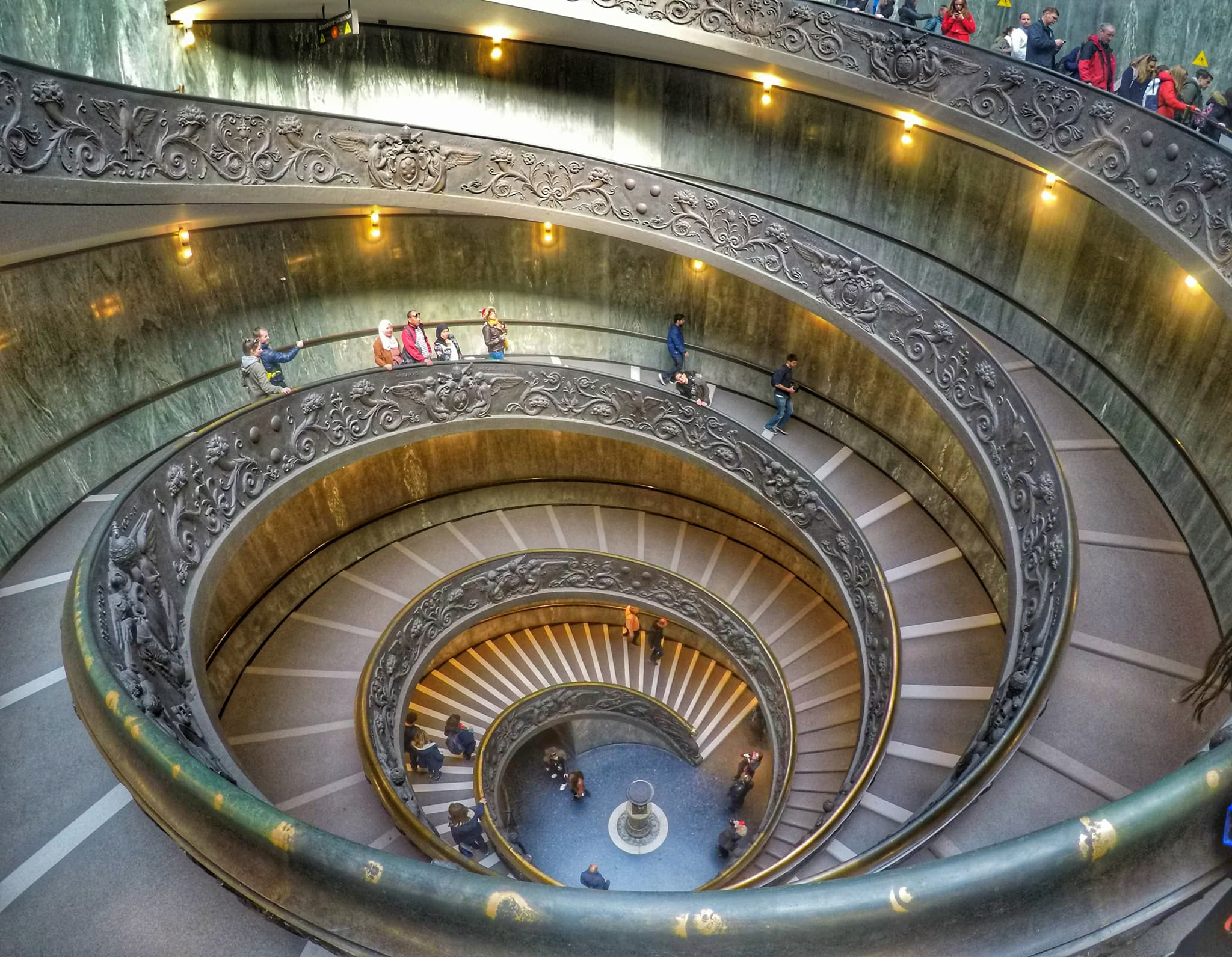 Rome vacation tips - Momo Staircase in Vatican Museum
