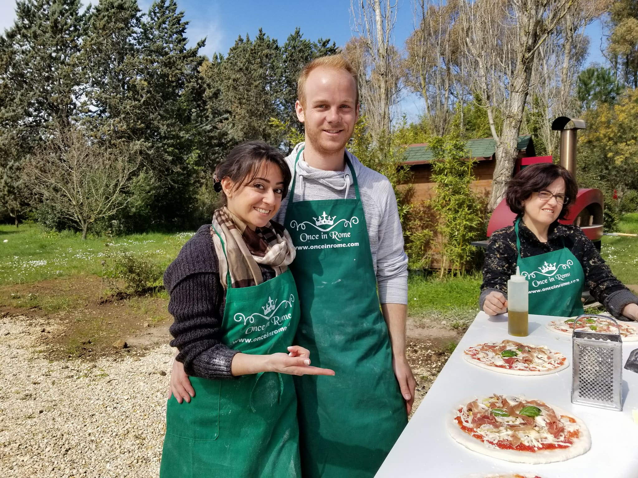 Rome vacation tips - pizza making class