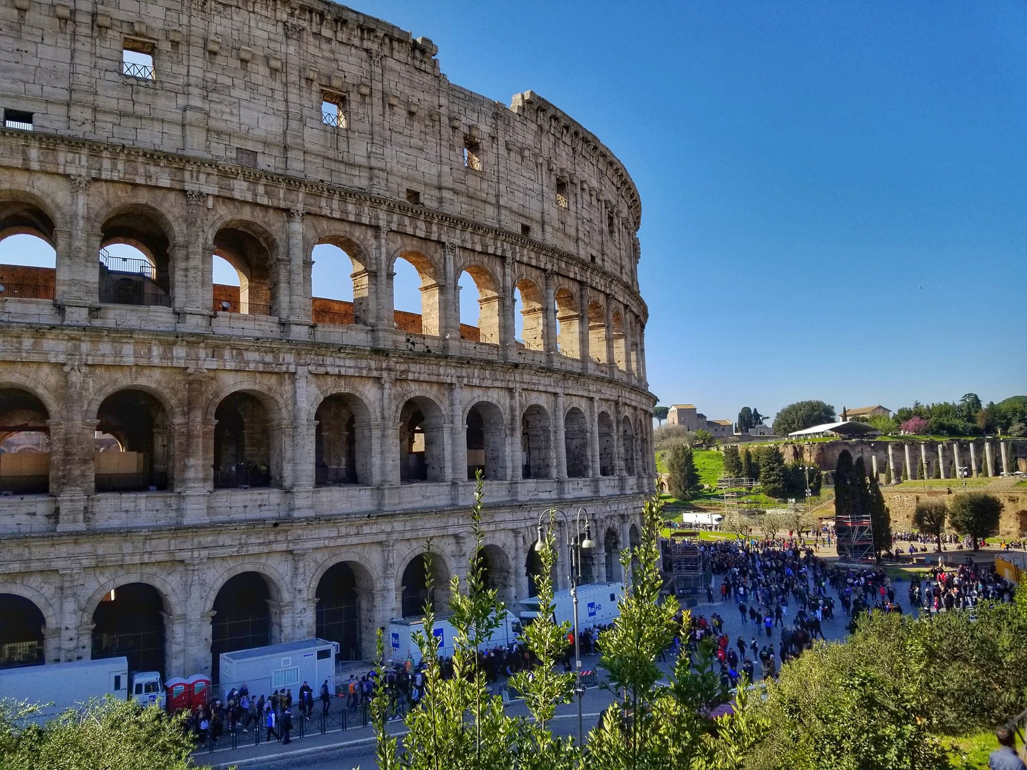 Visit Rome In 4 Days - Colosseum