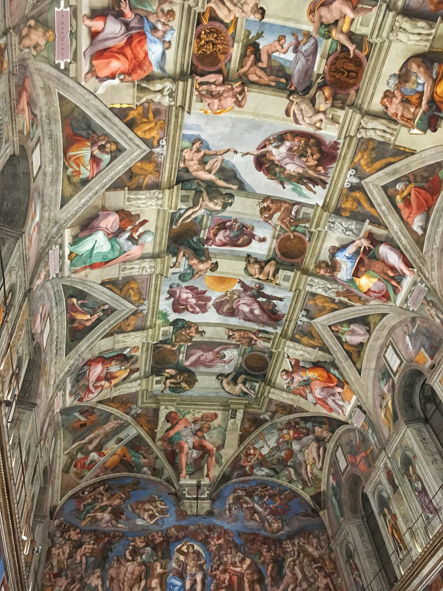 Visit Rome In 4 Days - Sistine Chapel