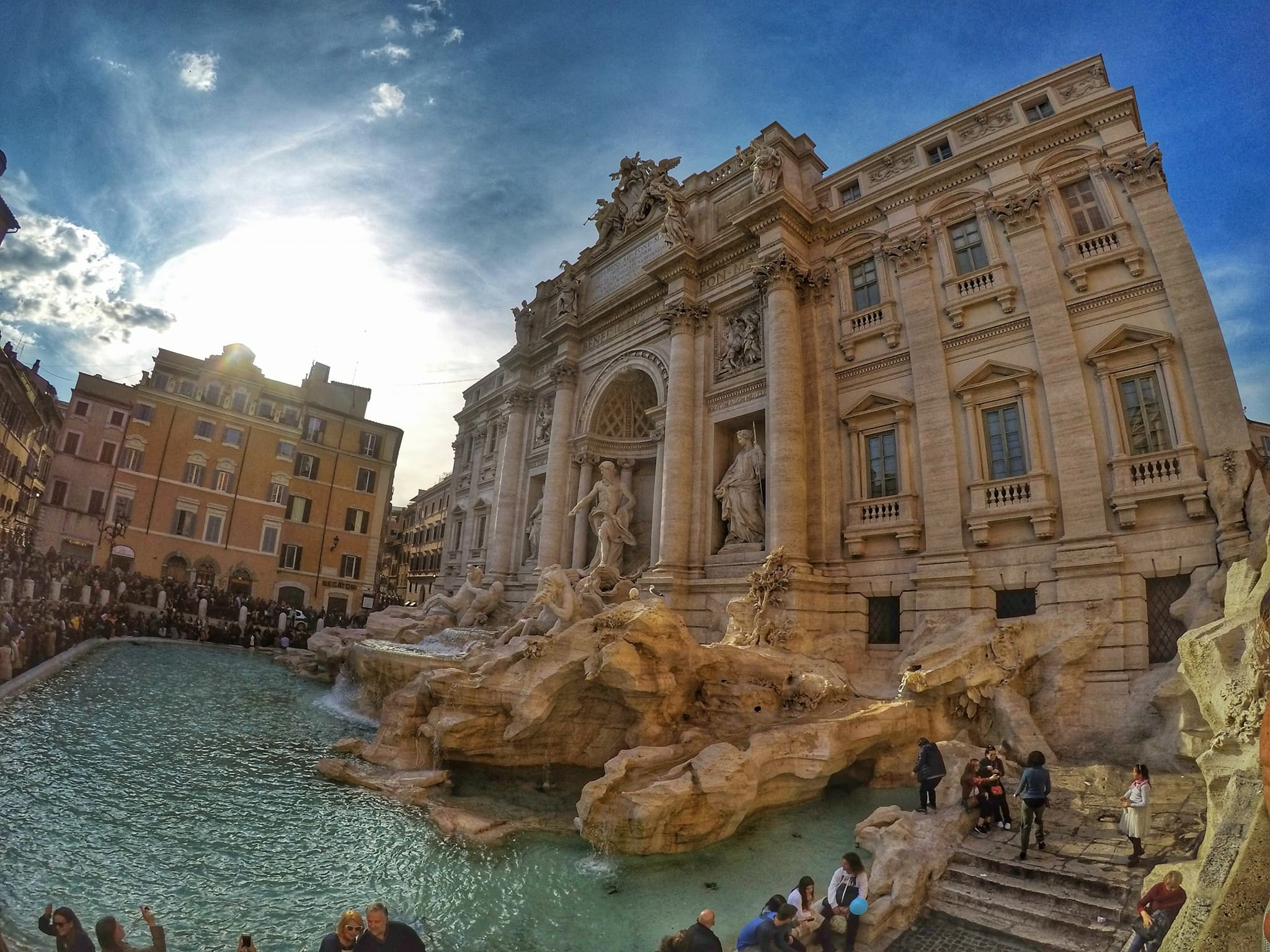Visit Rome In 4 Days - Trevi Fountain