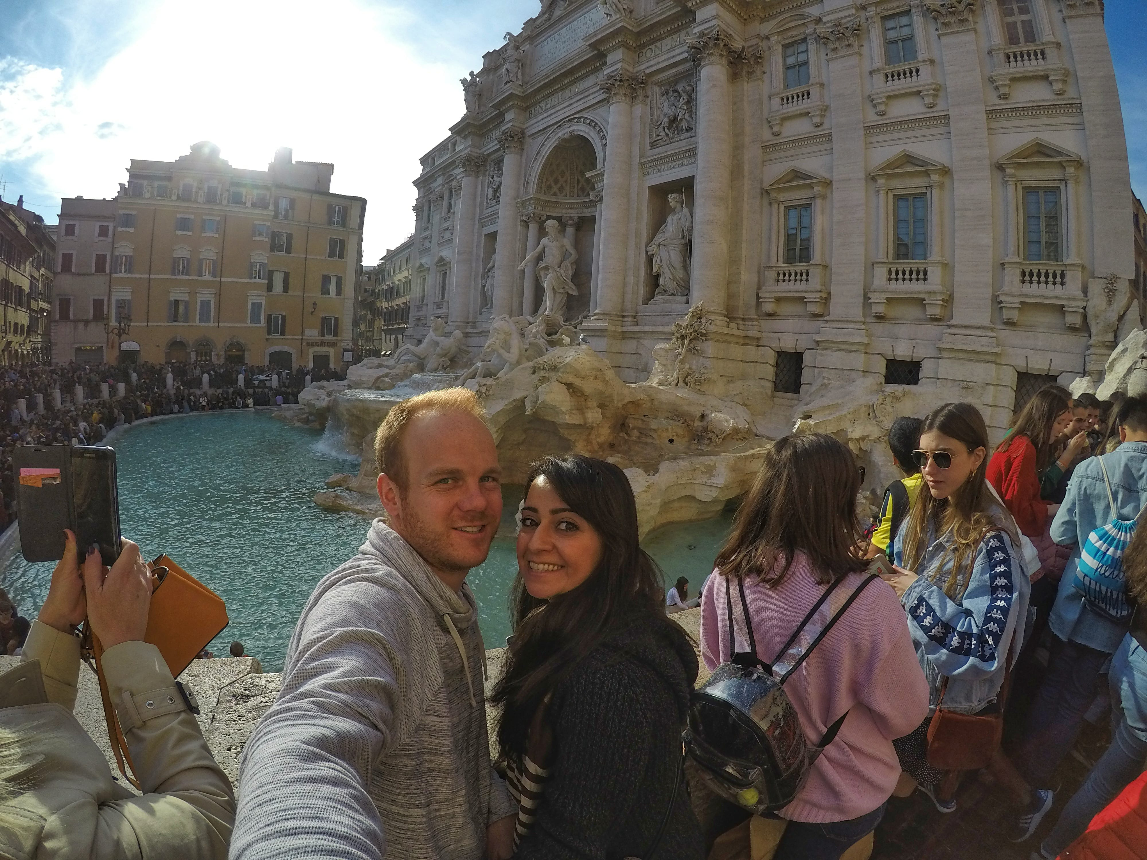 one week in Italy - Trevi Fountain