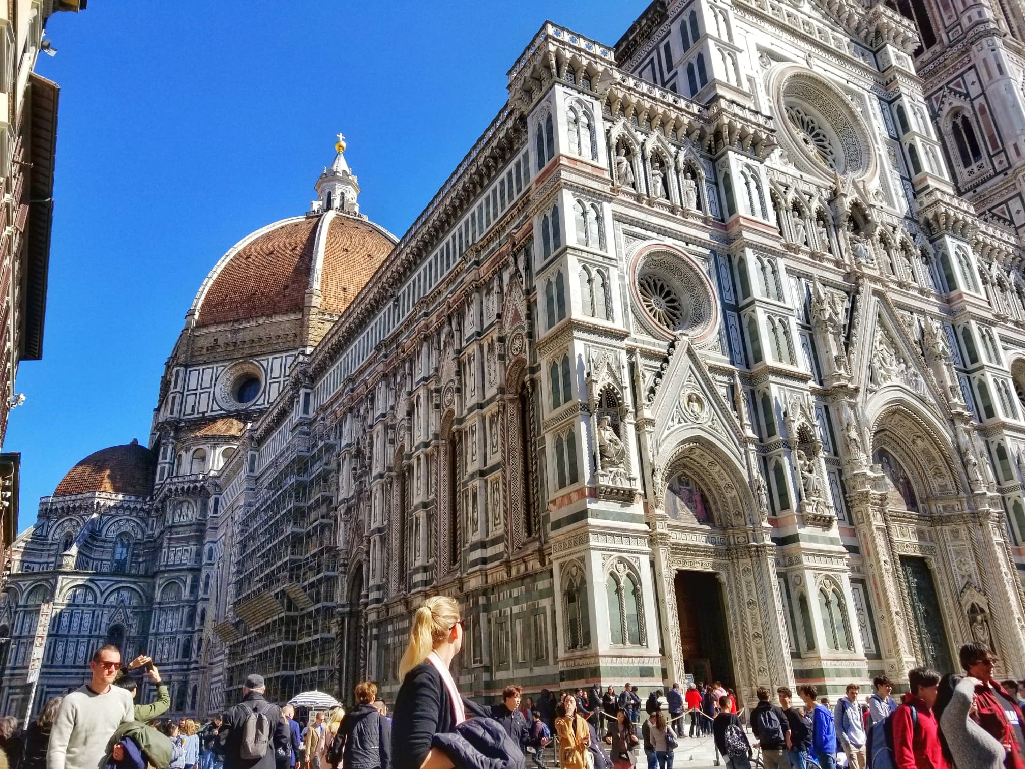 Florence itinerary 2 days - Piazza del Duomo