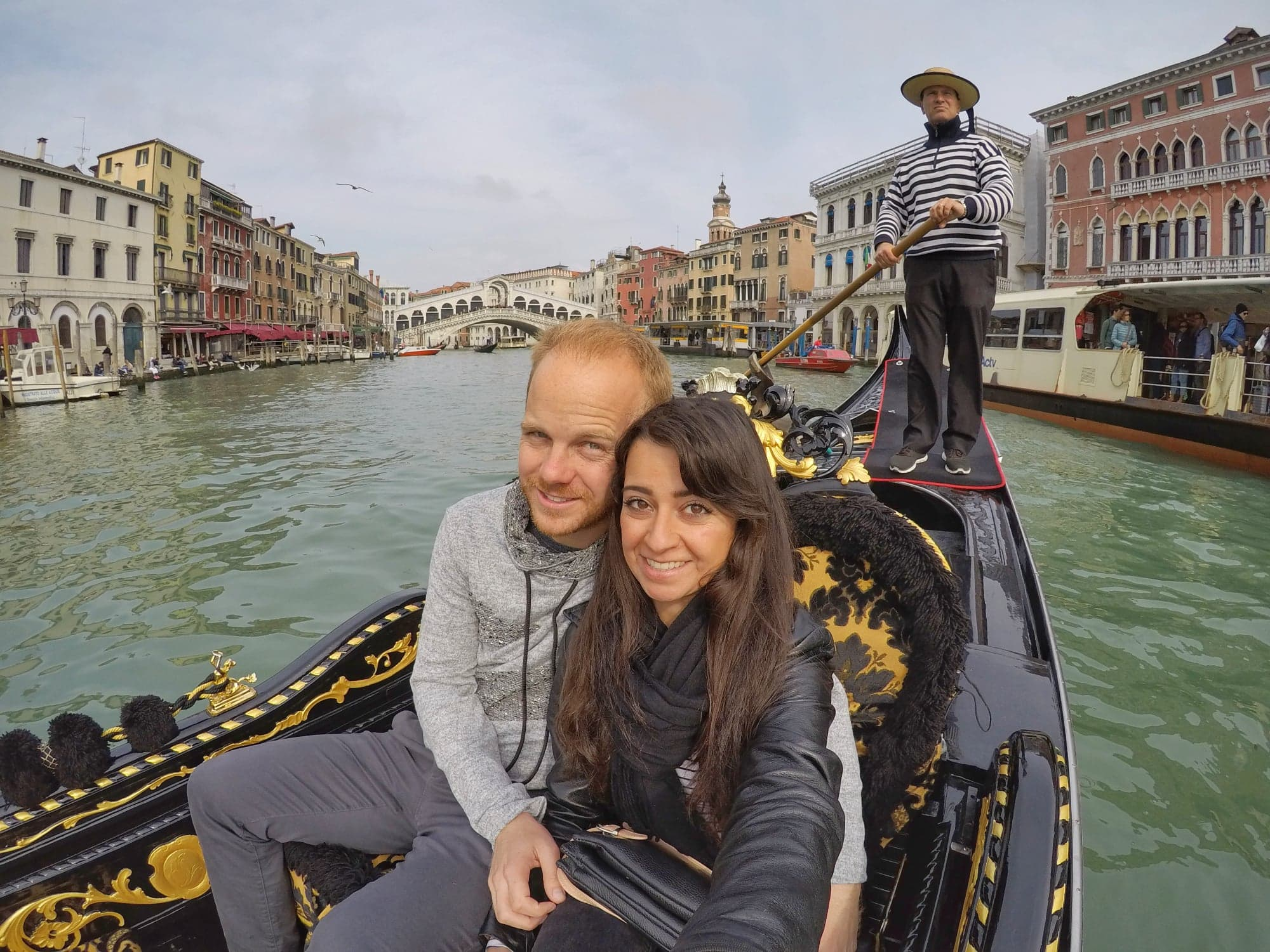What To do in Venice Italy For 2 days - romantic gondola Grand Canal