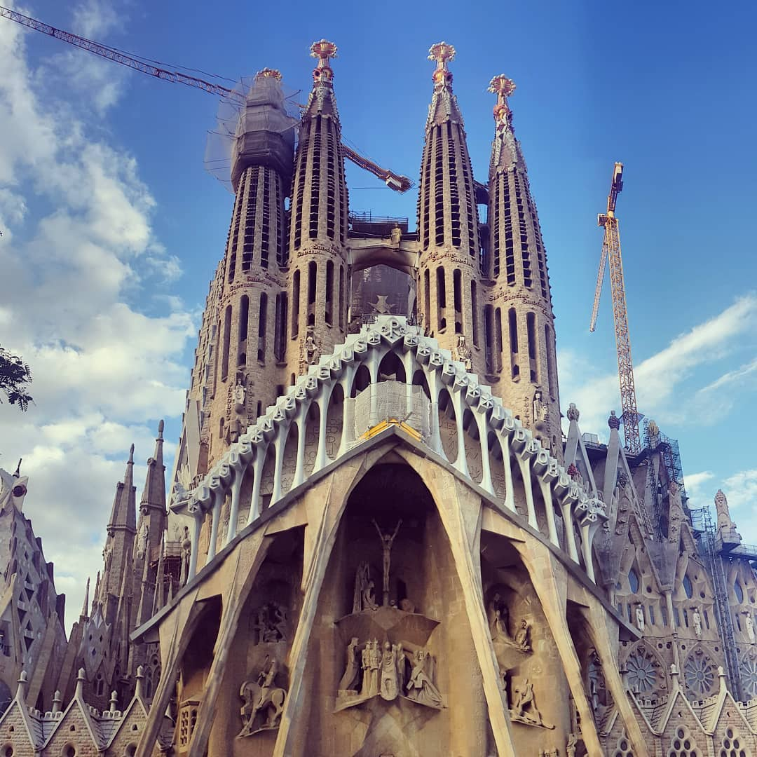 must see places in Spain - Barcelona, Sagrada Familia