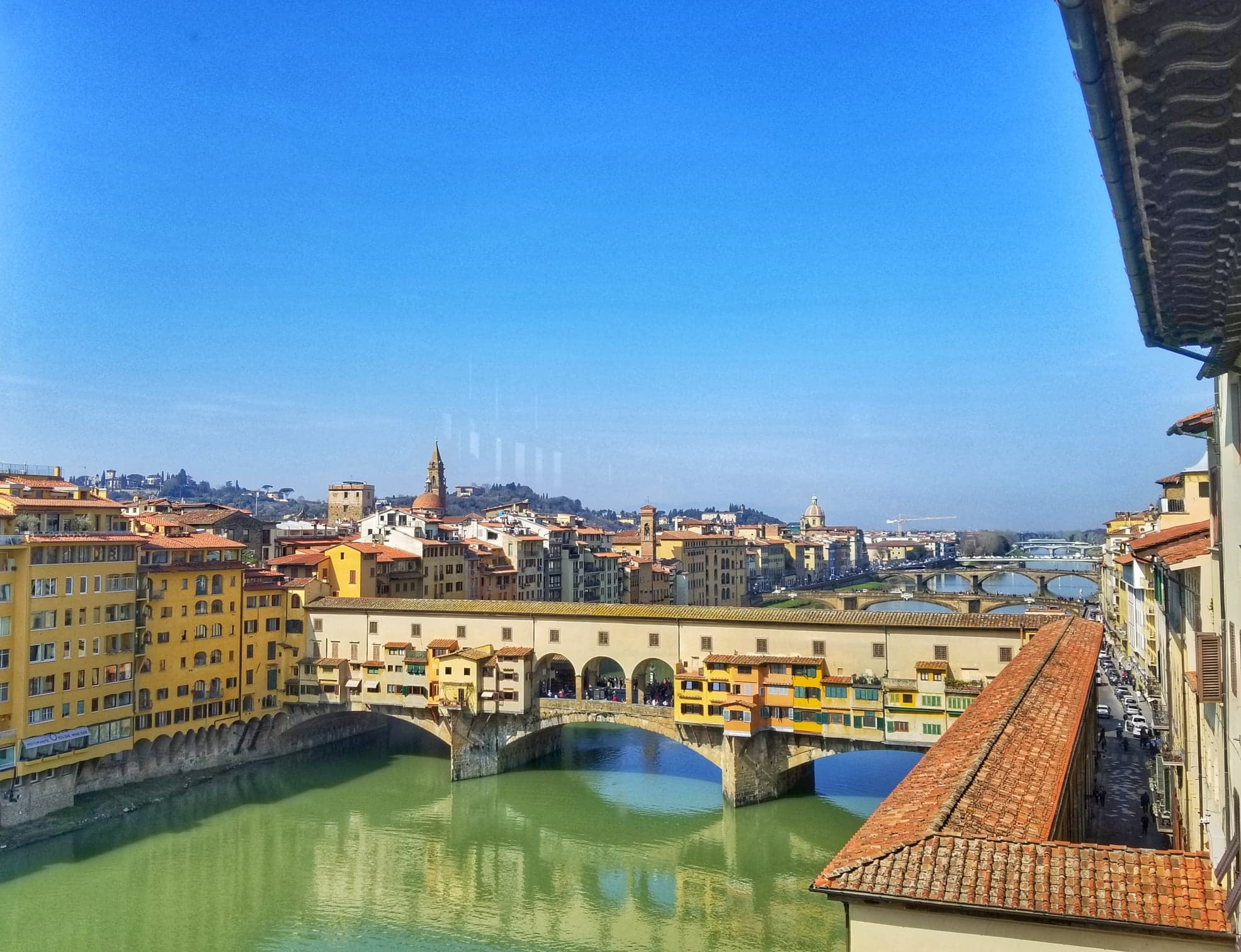 things to do in Florence in 2 days - Ponte Vecchio view
