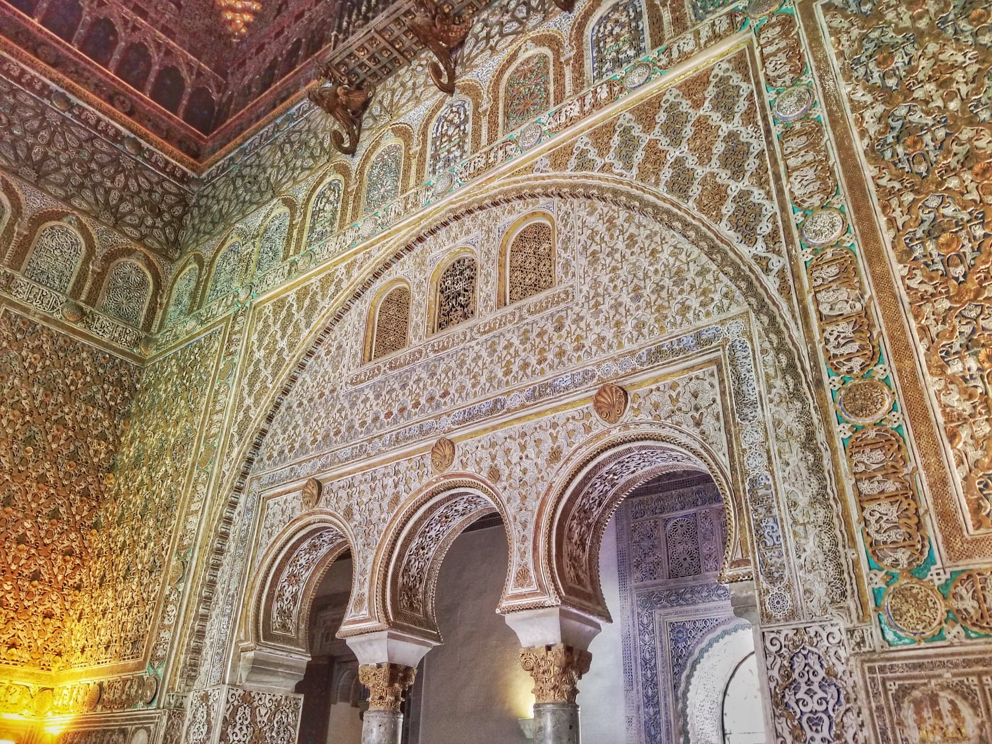 3 day Seville itinerary - Real Alcazar interior