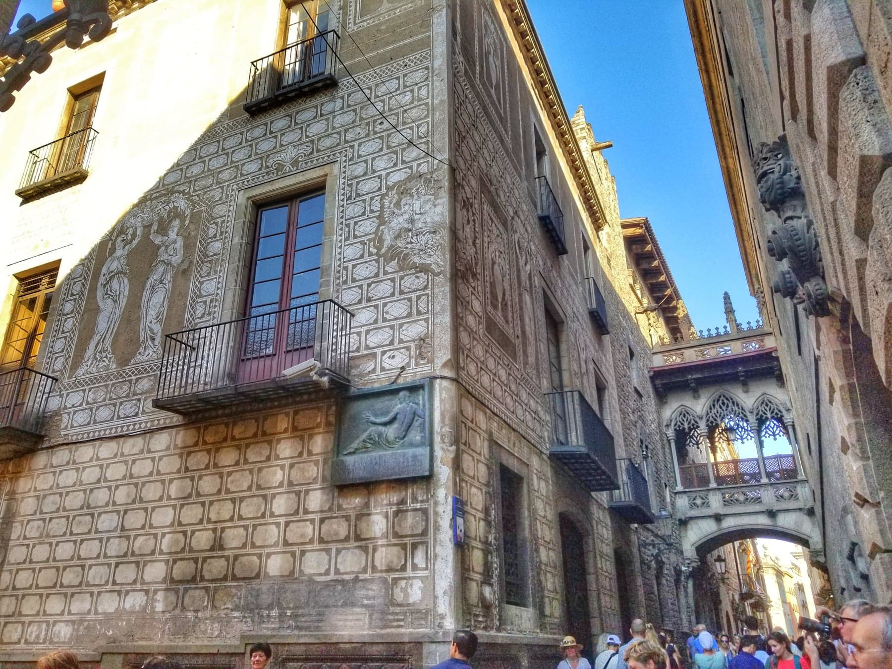 Barcelona itinerary 3 days - Gothic Quarter