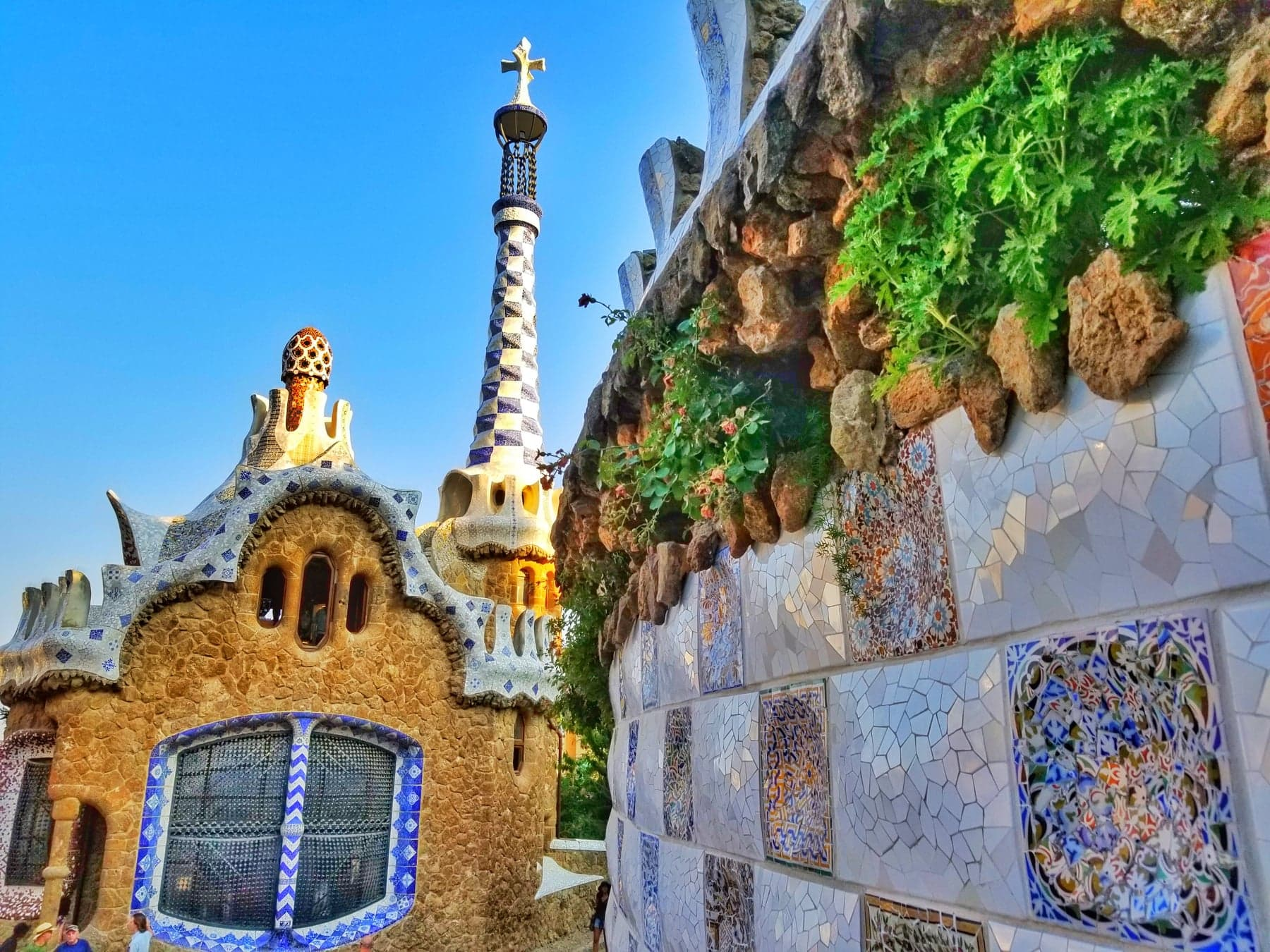 Barcelona itinerary 3 days - Park Guell