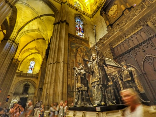 Seville itinerary - Tomb of Christopher Columbus