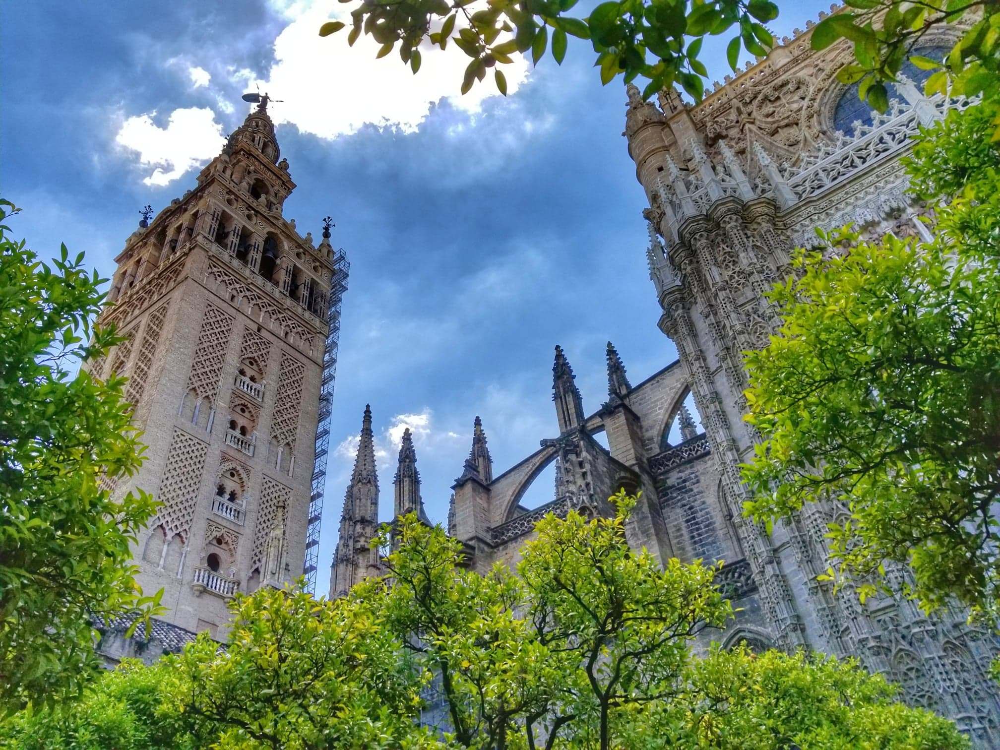 Seville itinerary - Torre Giralda of Catedral Sevilla