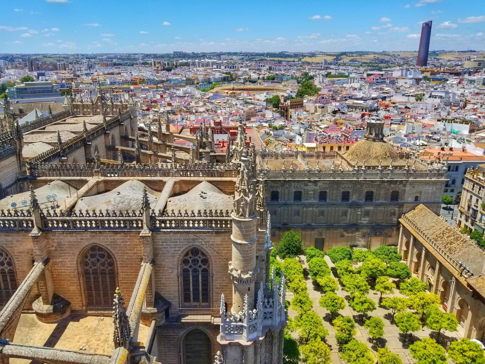 Seville itinerary - Torre Giralda views