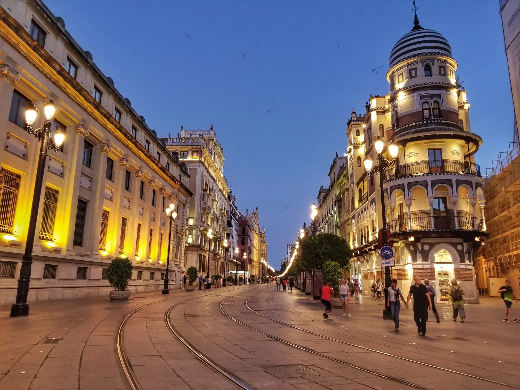 What to see in Seville - Plaza Nueva
