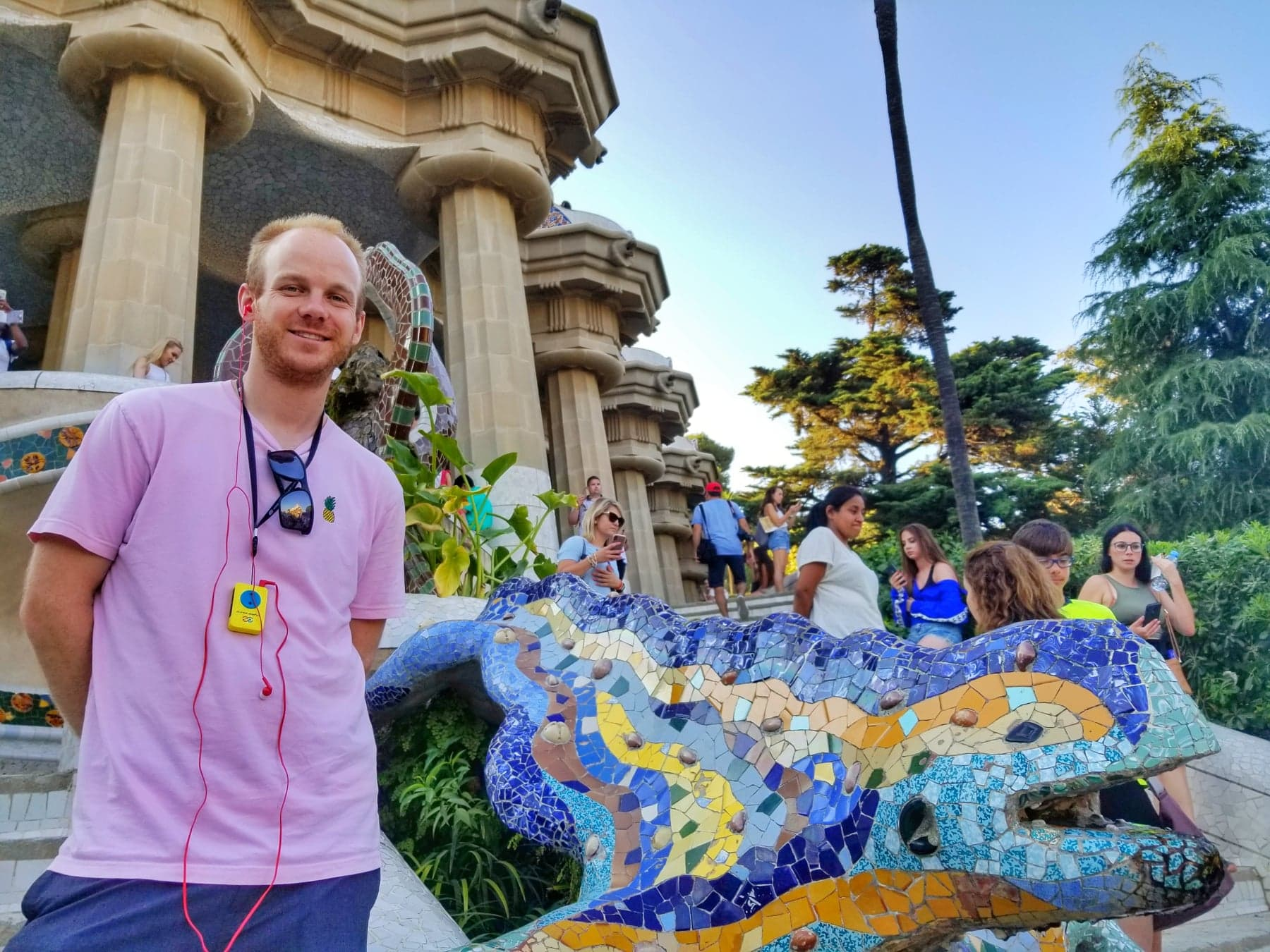 what to do in Barcelona for 3 days - Park Guell Art