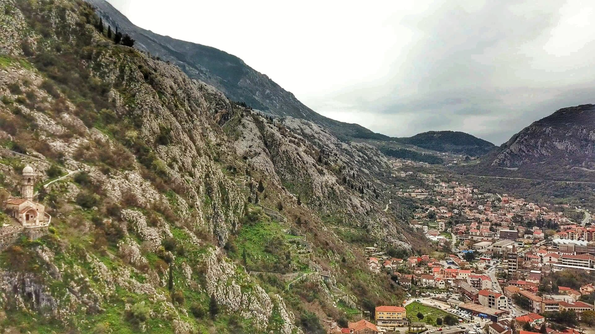 where is kotor - in Montenegro (Balkans)