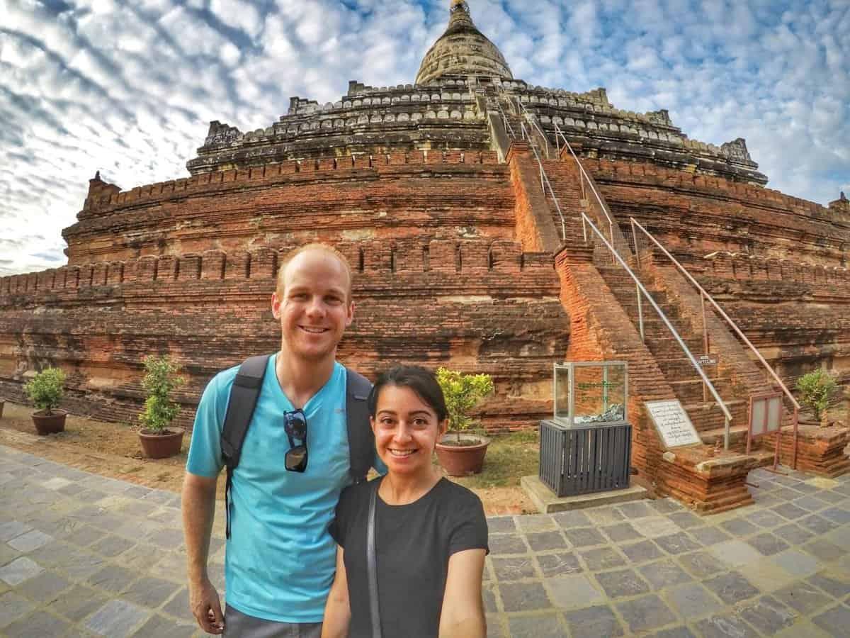 Bagan Temple - Shwesandaw Pagoda
