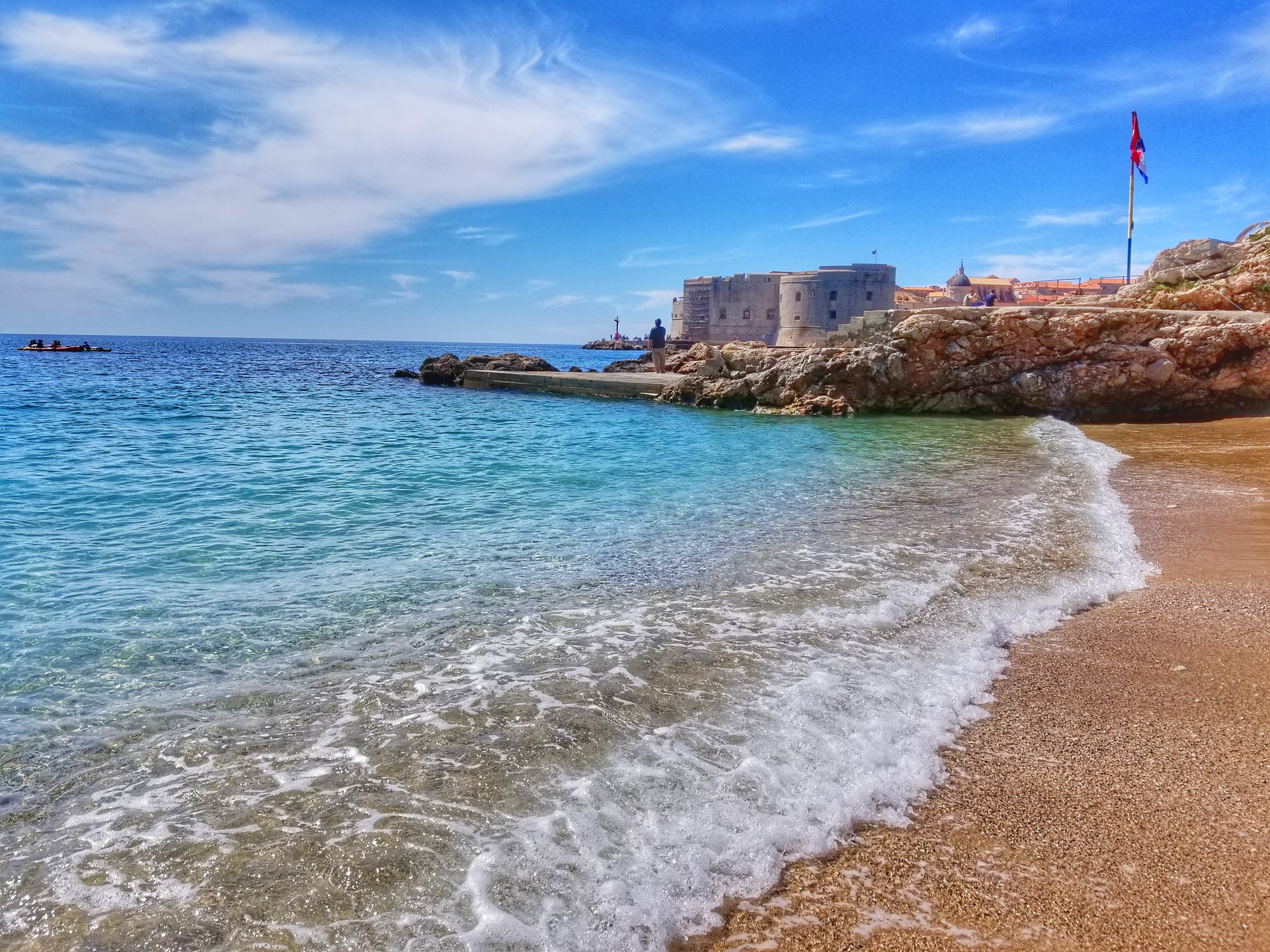 Banje Beach - best things to do in Dubrovnik