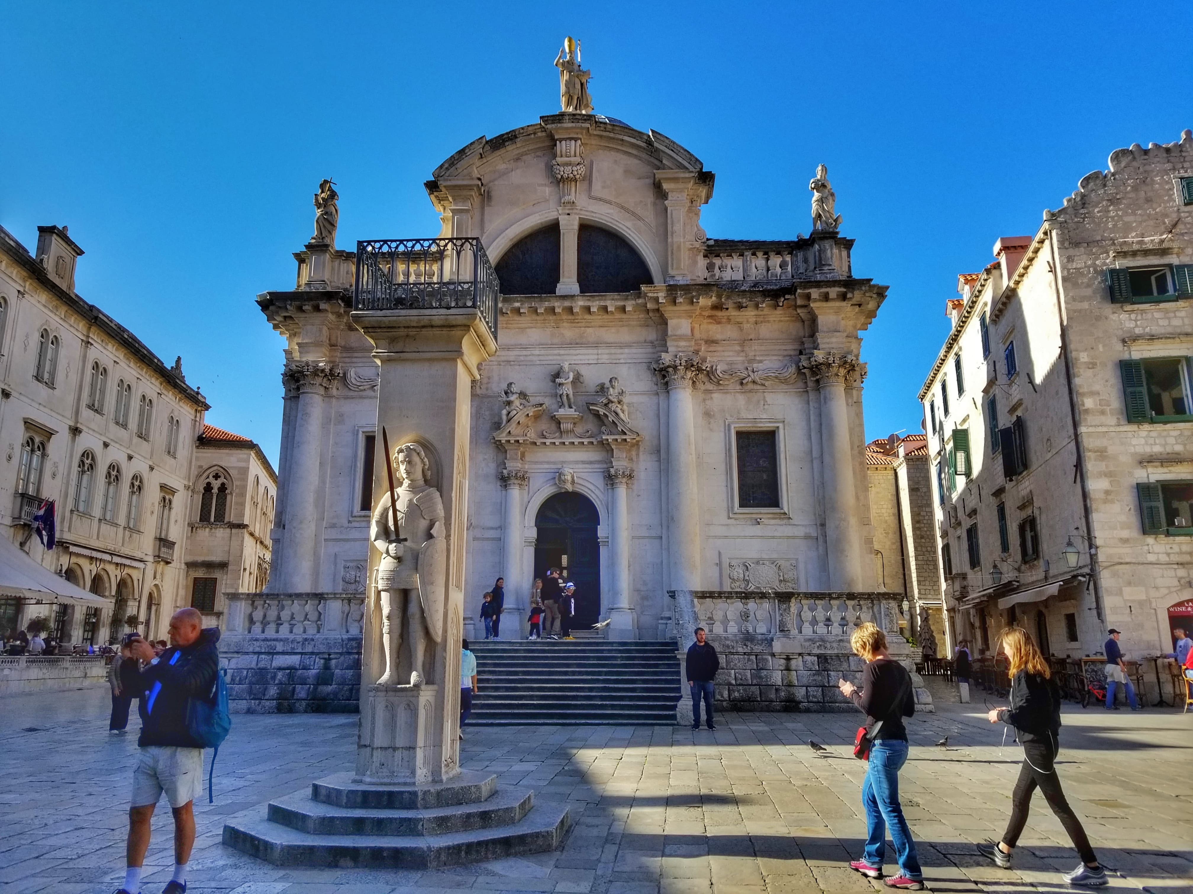 Church of Saint Blaise - One Day In Dubrovnik