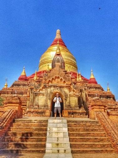 Myanmar Bagan Temples - Dhammayazika Pagoda