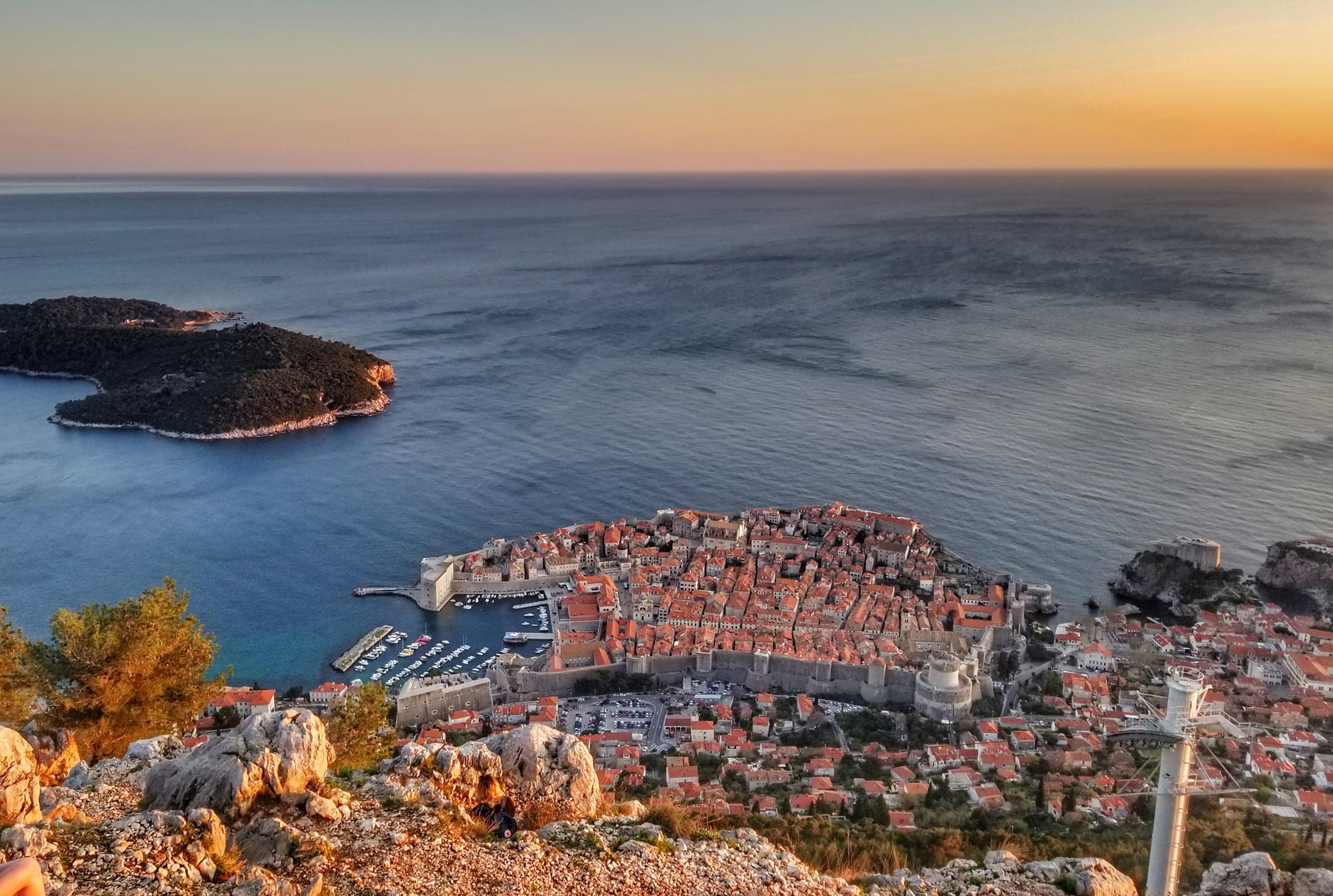 One Day In Dubrovnik - Srd Hill Views