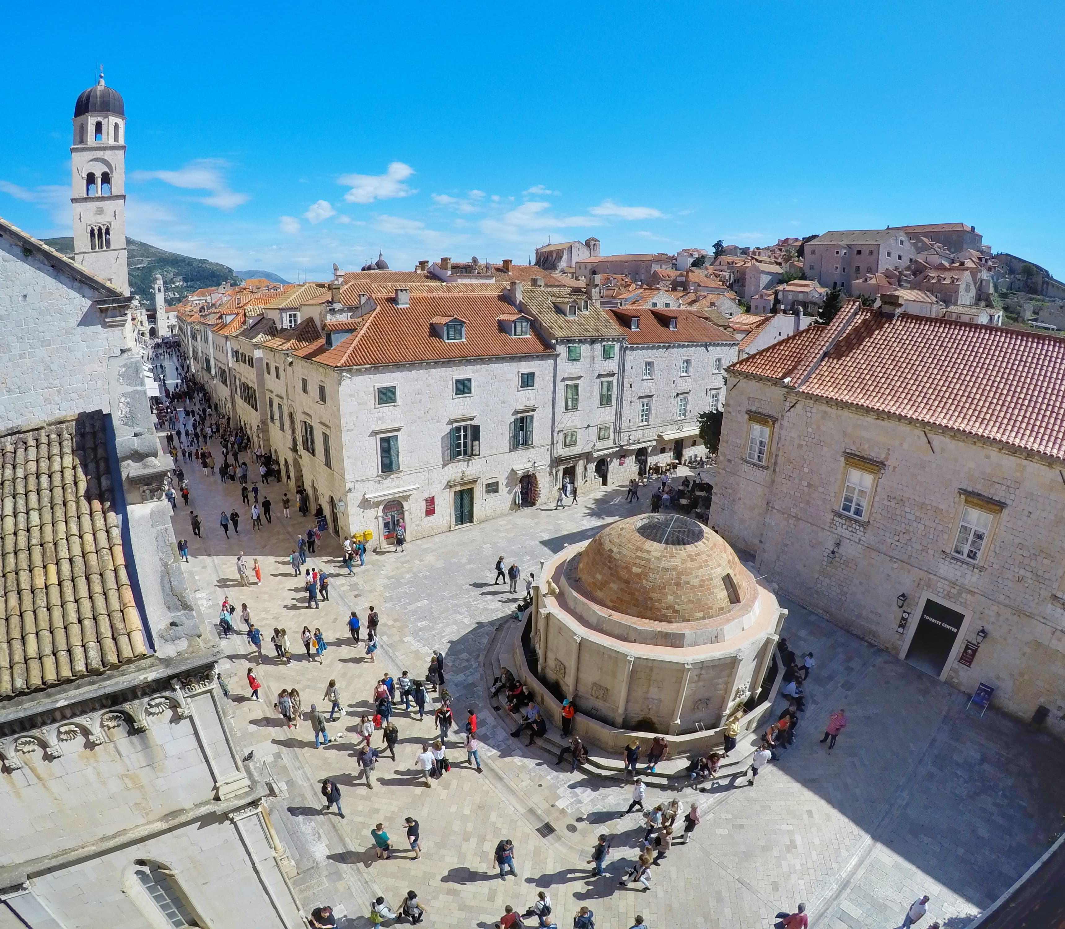 Onofrio's Fountains - things to do in Dubrovnik Croatia