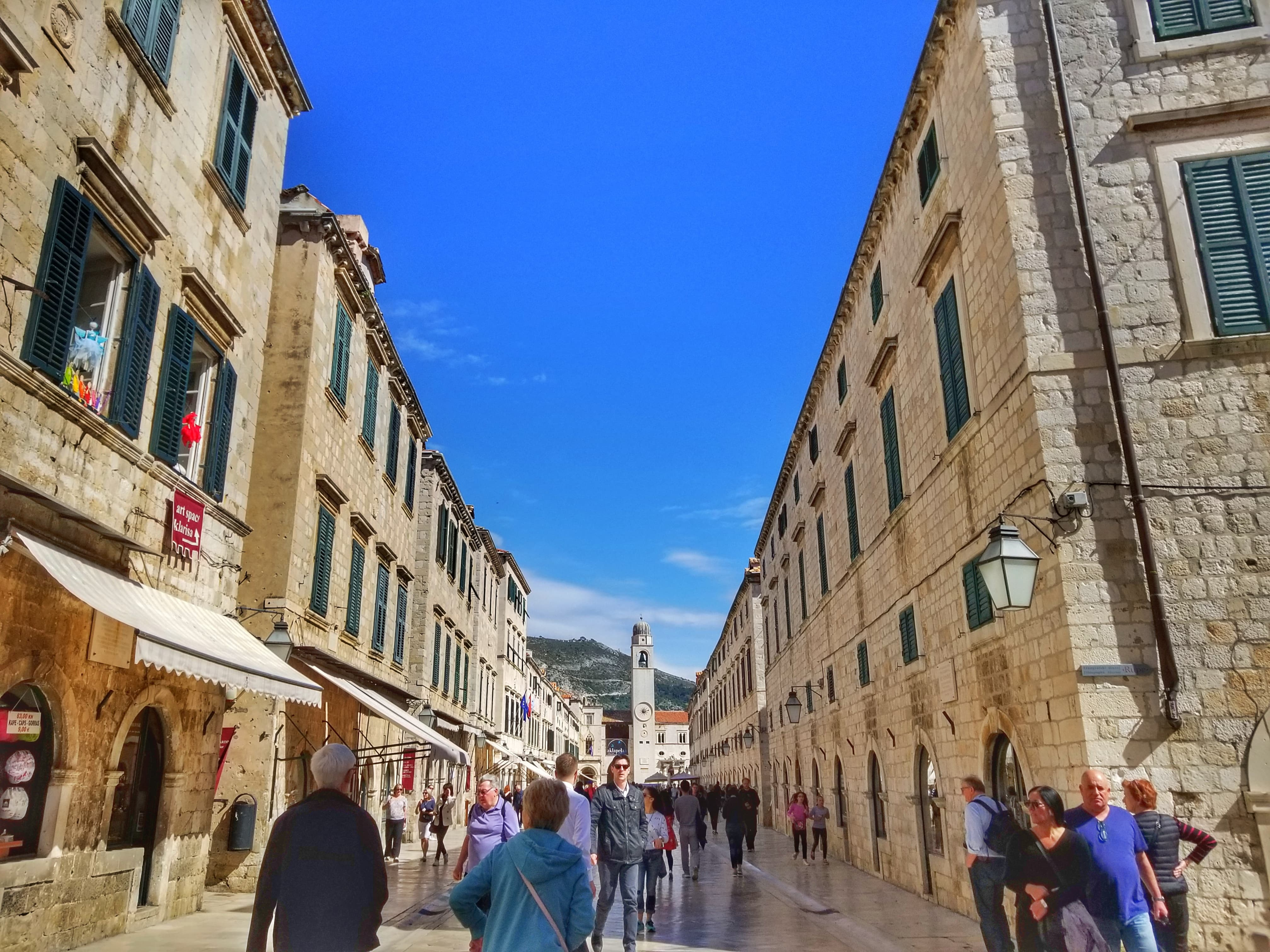 Placa Street or Stradun - what to do in Dubrovnik