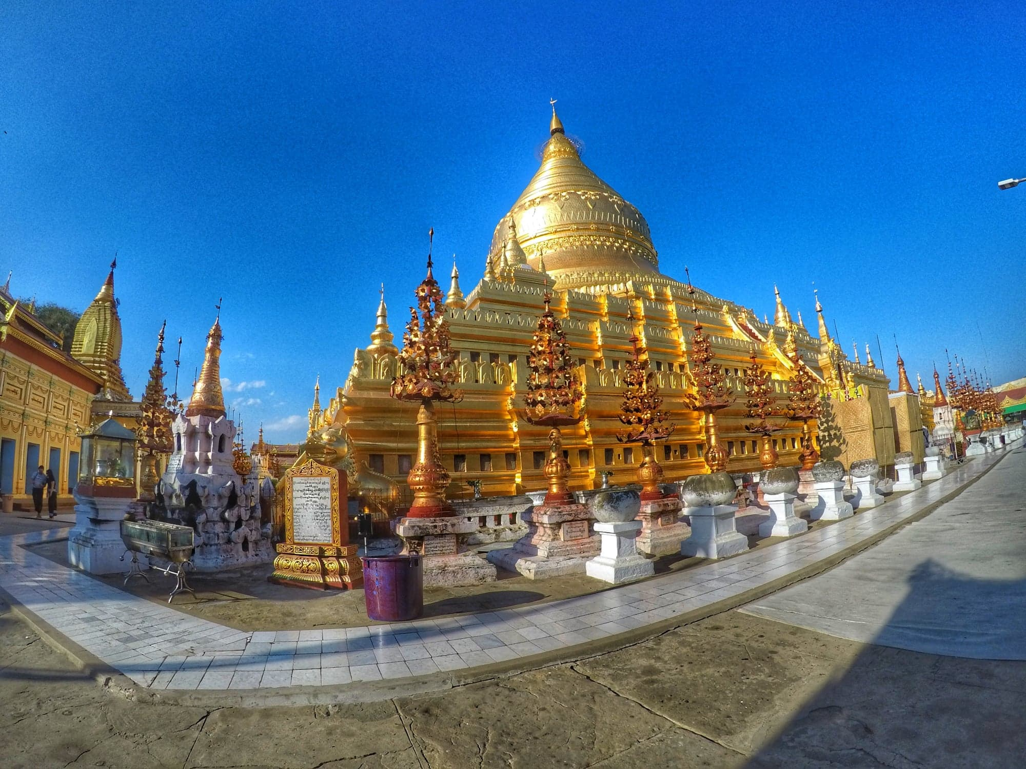 Shwezigon Pagoda - interesting Bagan Temple
