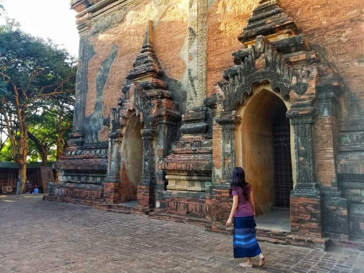 Temples of Bagan - Htilominlo