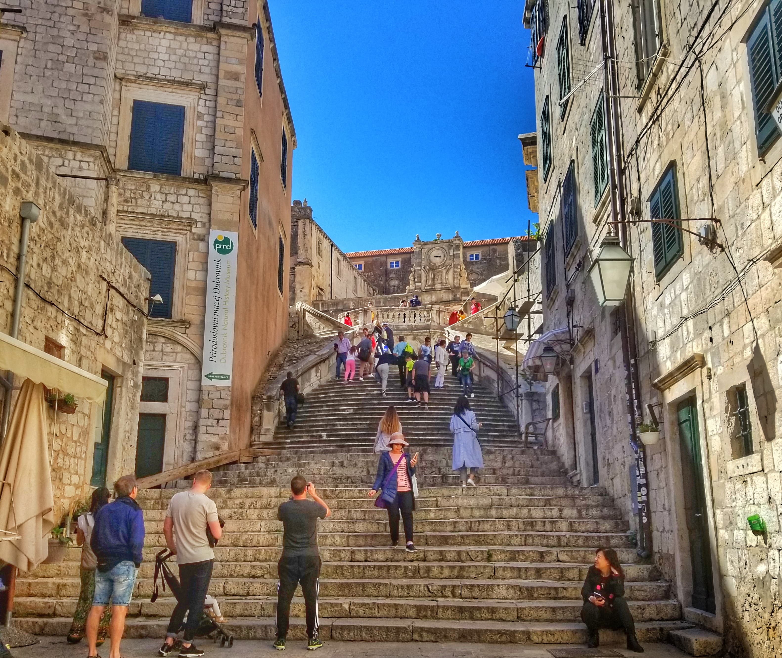 best things to do in Dubrovnik - Jesuit Stairs