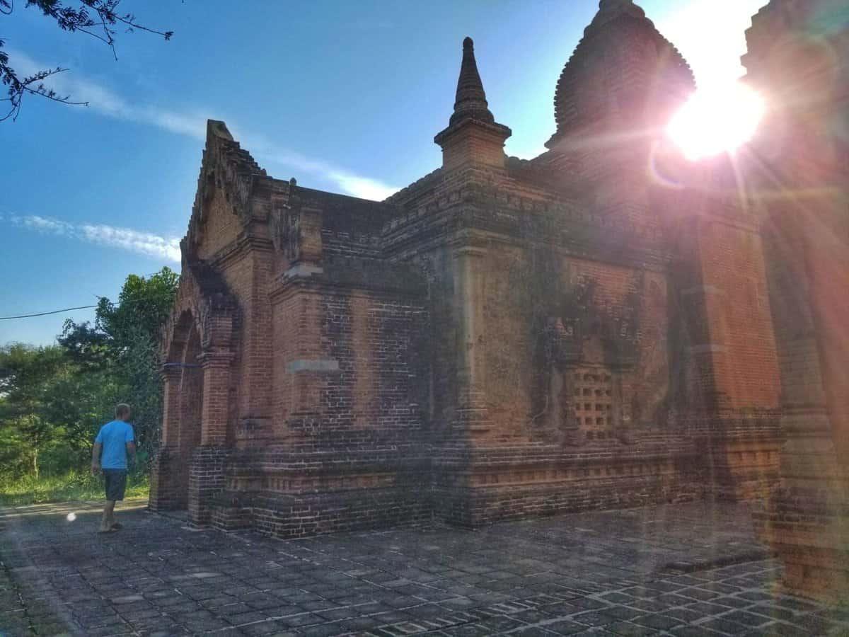 exploring Myanmar Bagan Temples