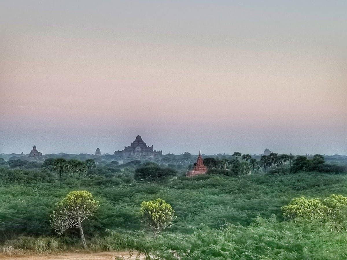 temples of Bagan - dusk