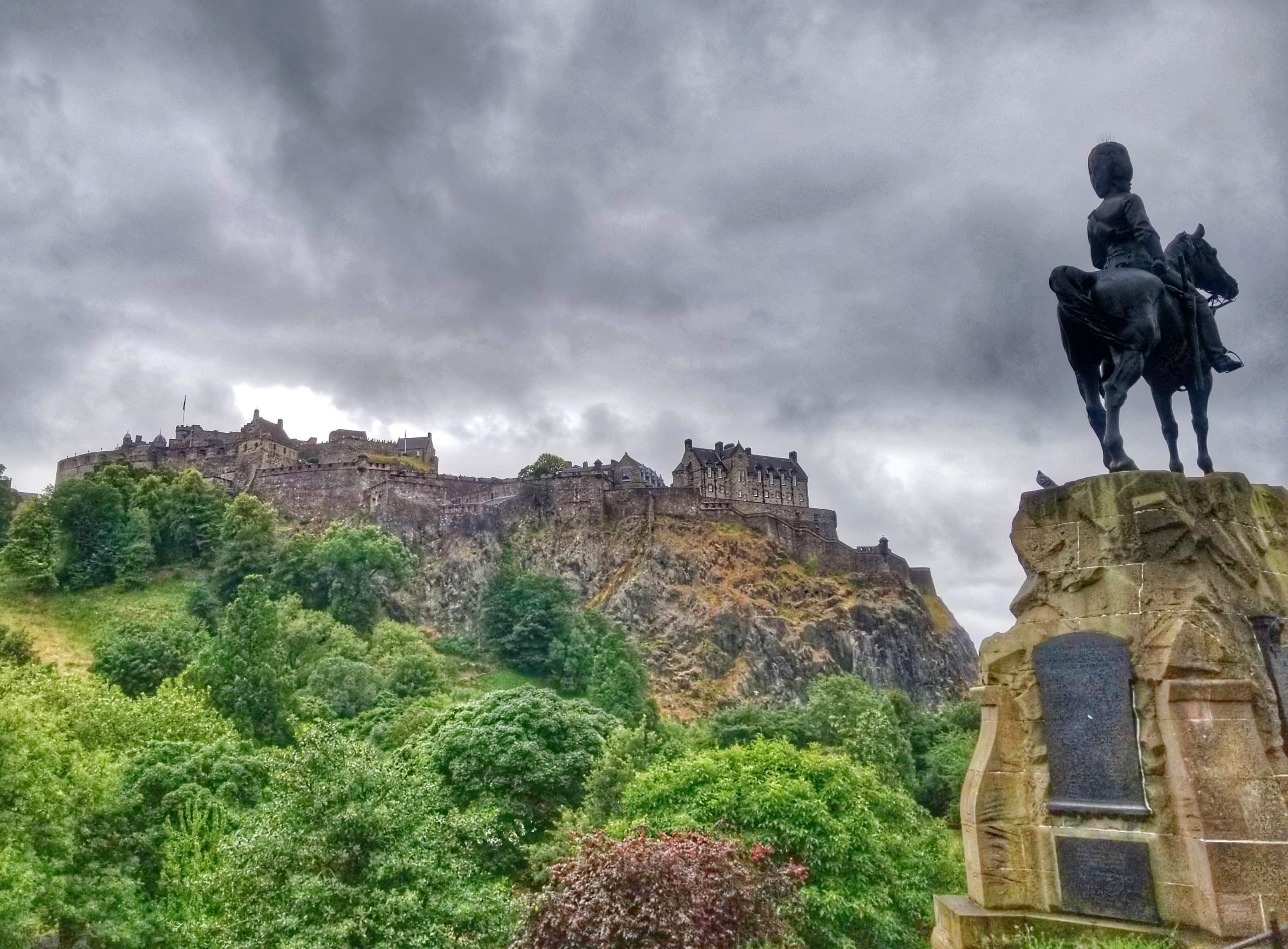 2 days in Edinburgh -Castle