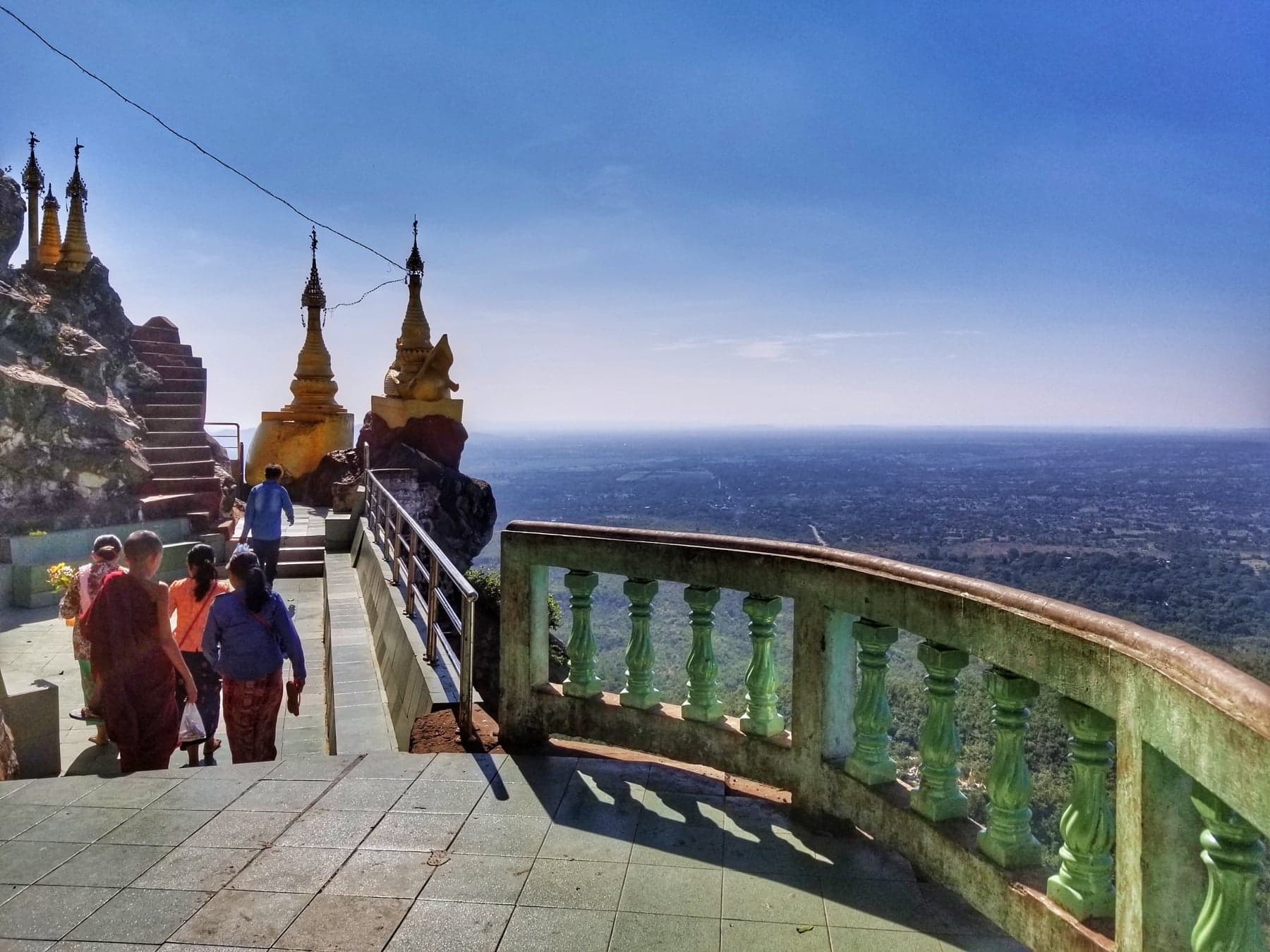 Things To Do In Bagan - Climb Mount Popa