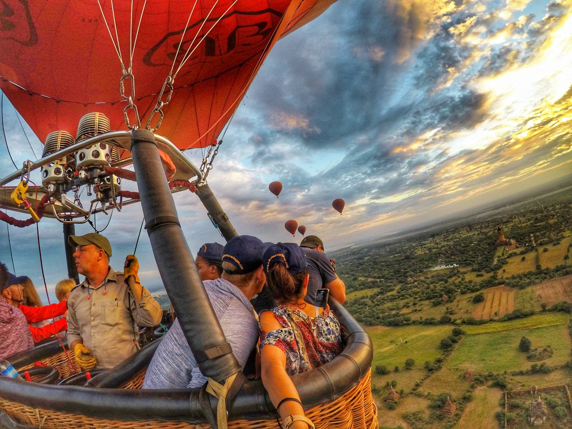 Things To Do In Bagan - Ride Hot Air Balloon