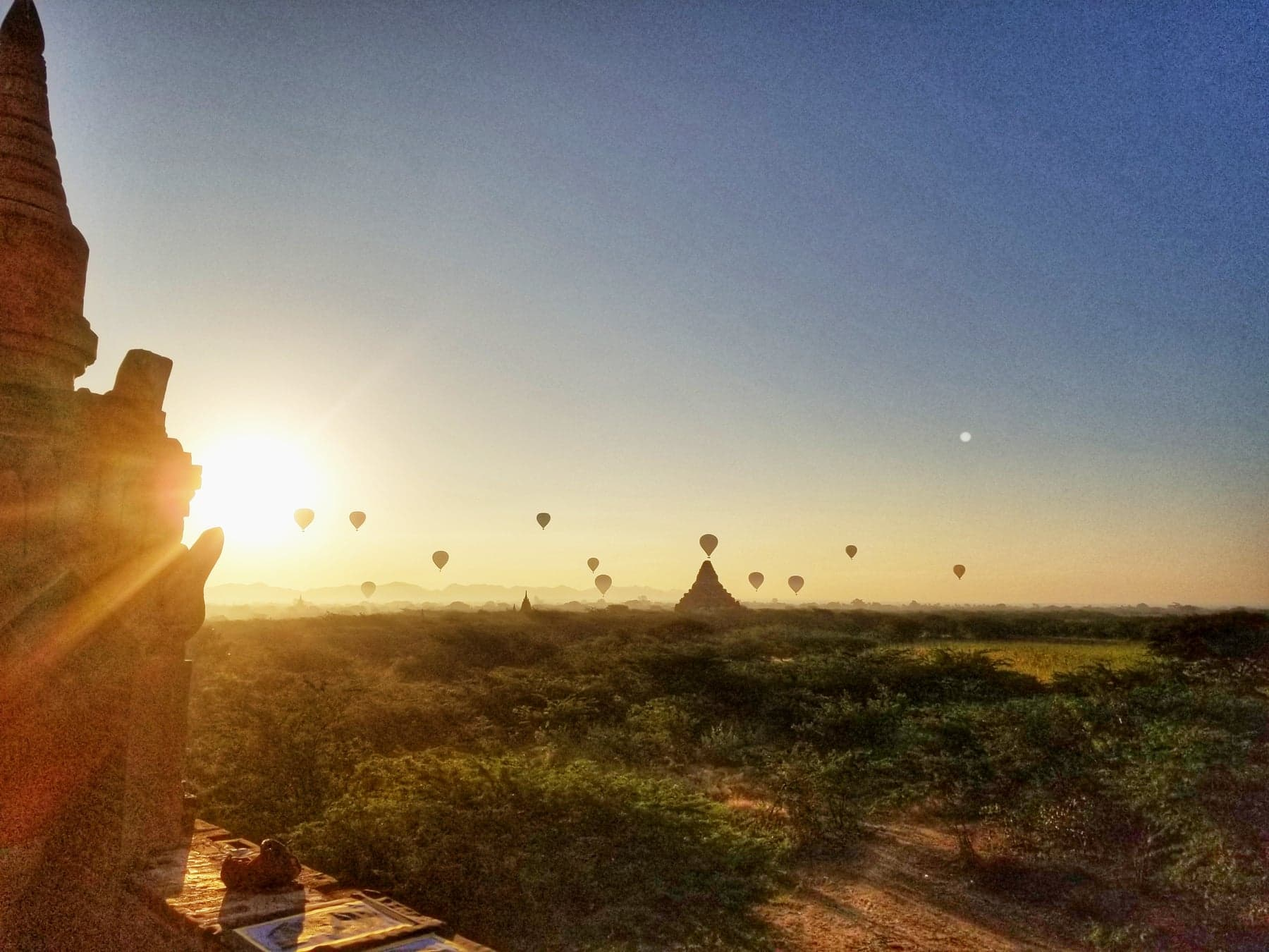 Things To Do In Bagan - watch the sunrise