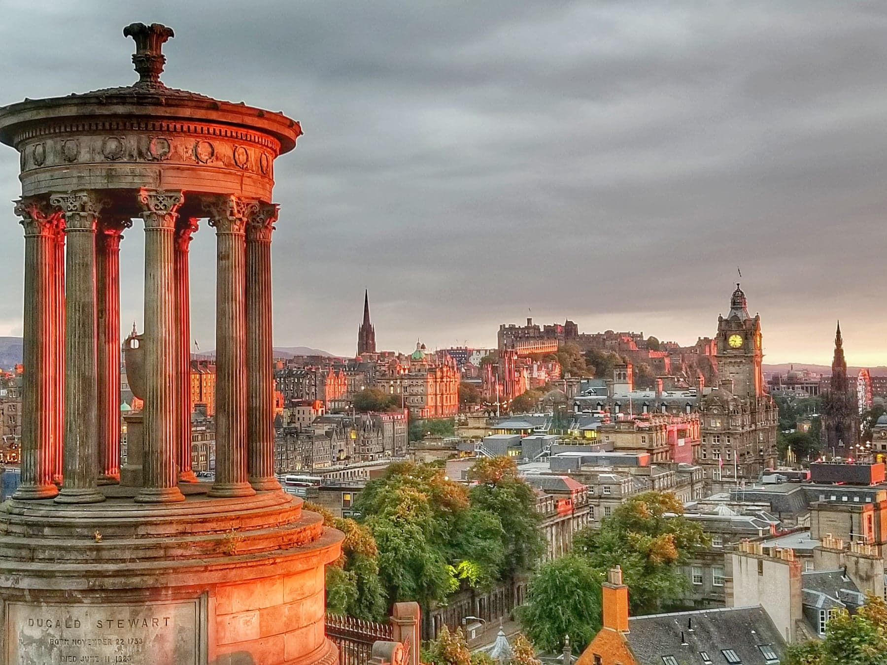 places to visit in Edinburgh - Calton Hill