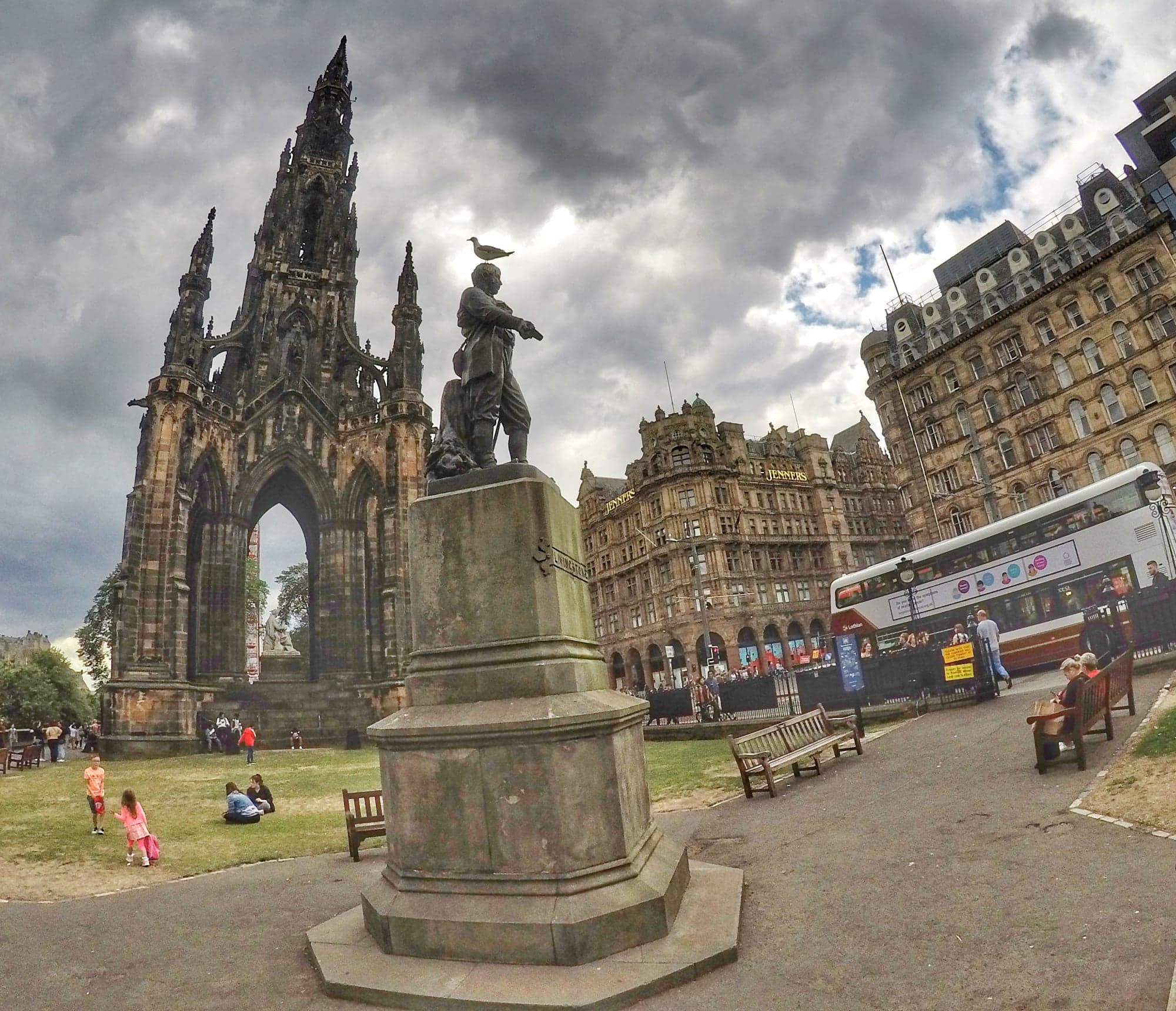 places to visit in Edinburgh - Scott Monument
