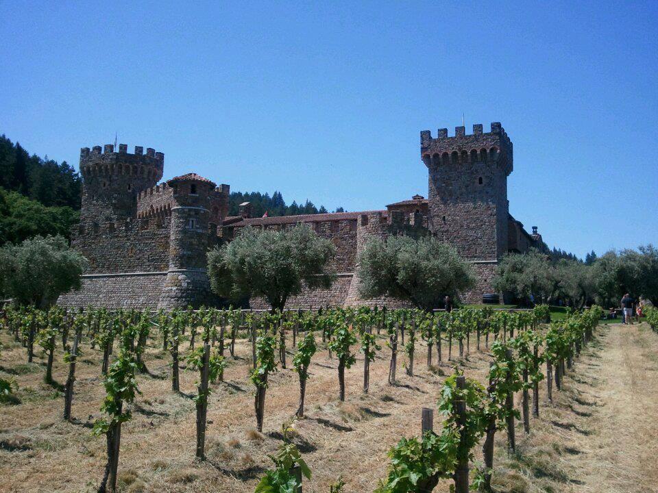 romantic getaways in Northern California - Napa Winery