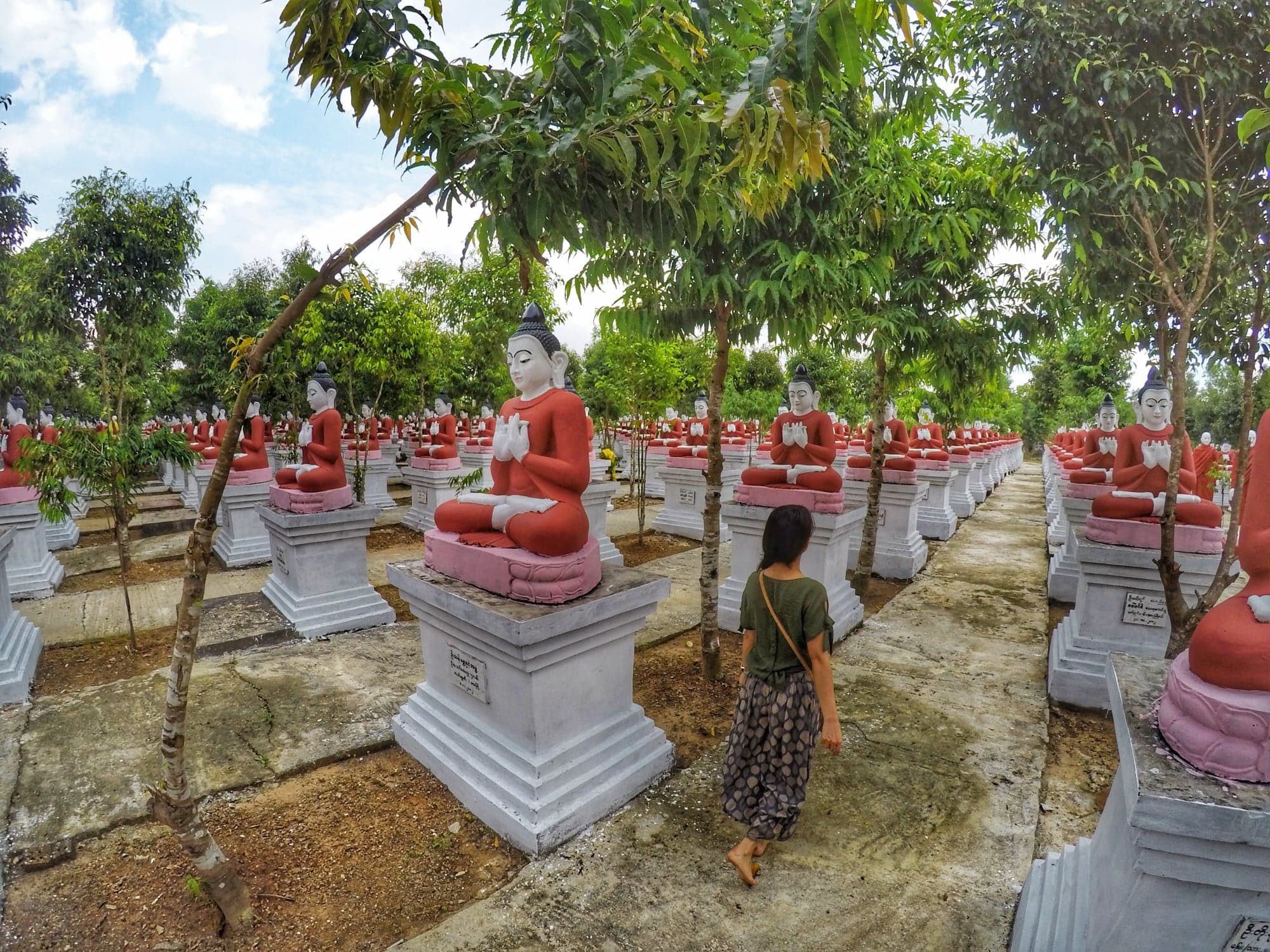 What To Do in Yangon - Kyaik Par Buddha Statue 1000