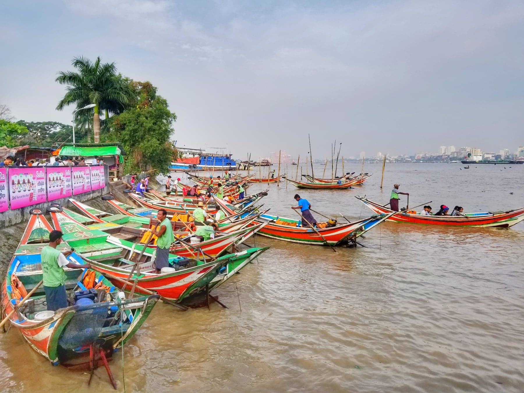 What to do in Yangon - Ride Rive Ferry