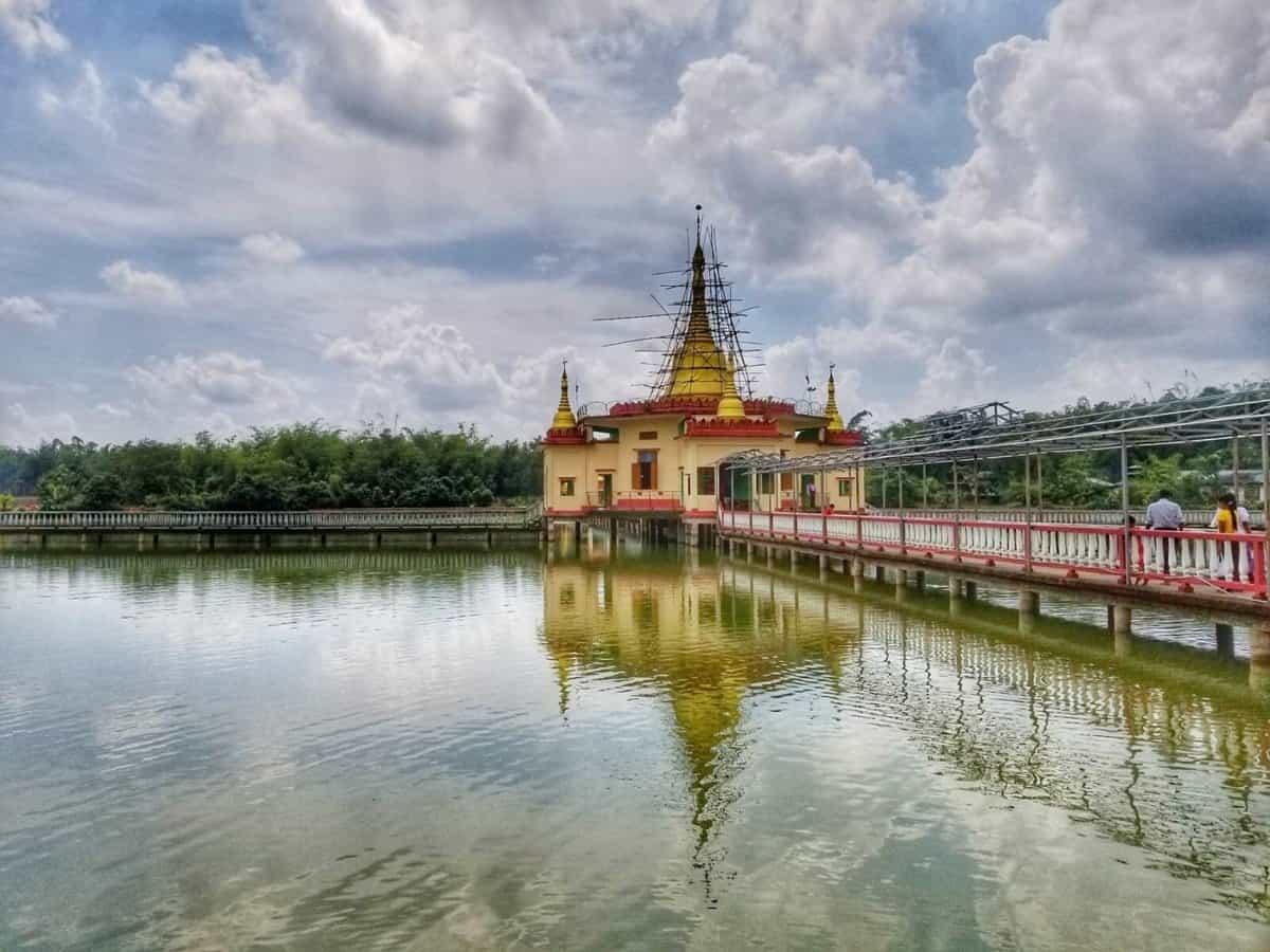 Yangon Burma -Paung Taw Choke Pagoda