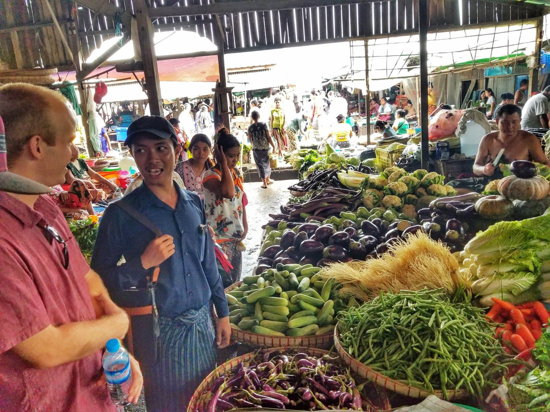 Yangon Things To Do - local market