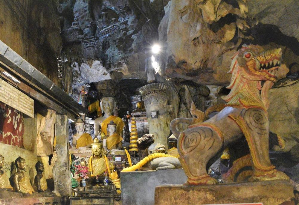 day trips from Chiang Mai - Inside Chiang Dao Caves
